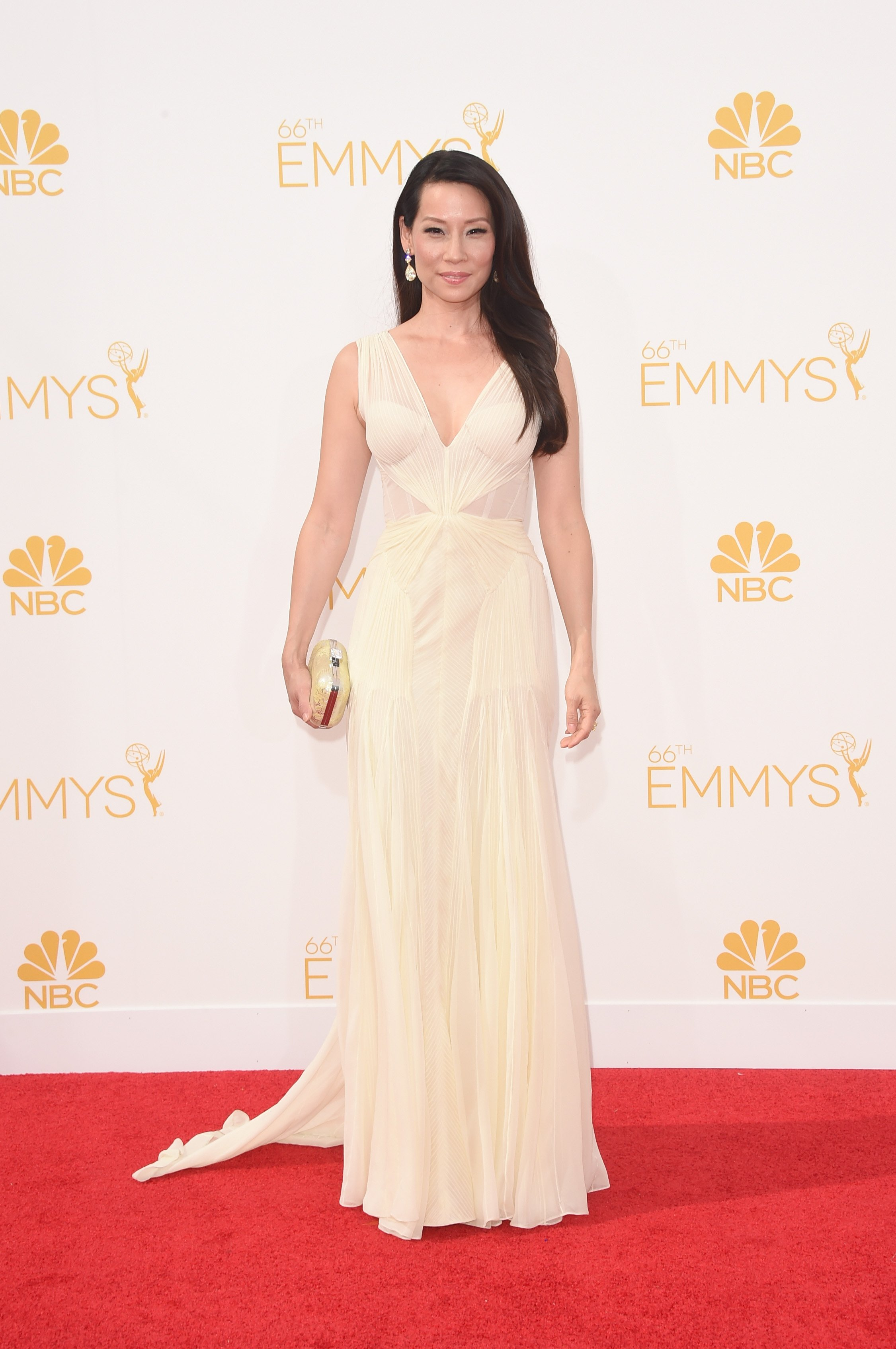 Lucy Liu attends the 66th Annual Primetime Emmy Awards held at Nokia Theatre L.A. Live on August 25, 2014 in Los Angeles, California.