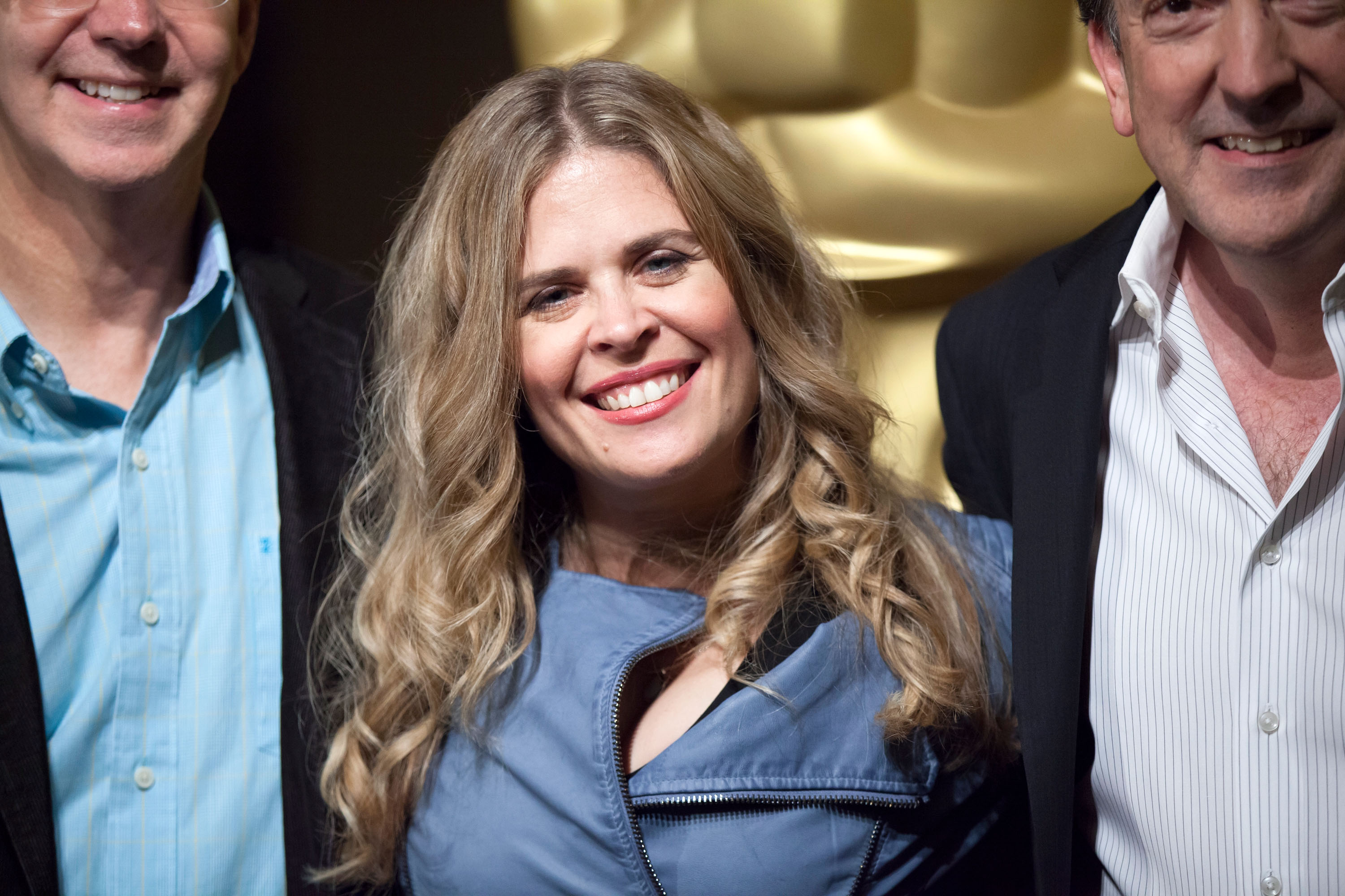 Jennifer Lee arrives for the 86th Annual Academy Awards Oscar Week Celebration of Animated Features
