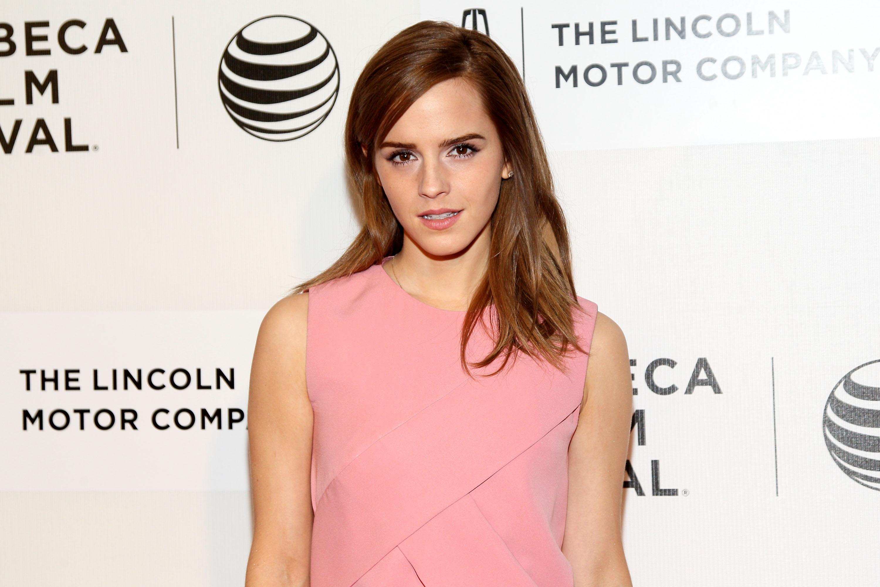 -Actress Emma Watson attends the premiere of  Boulevard  during the 2014 Tribeca Film Festival at BMCC Tribeca PAC on April 20, 2014 in New York City.
