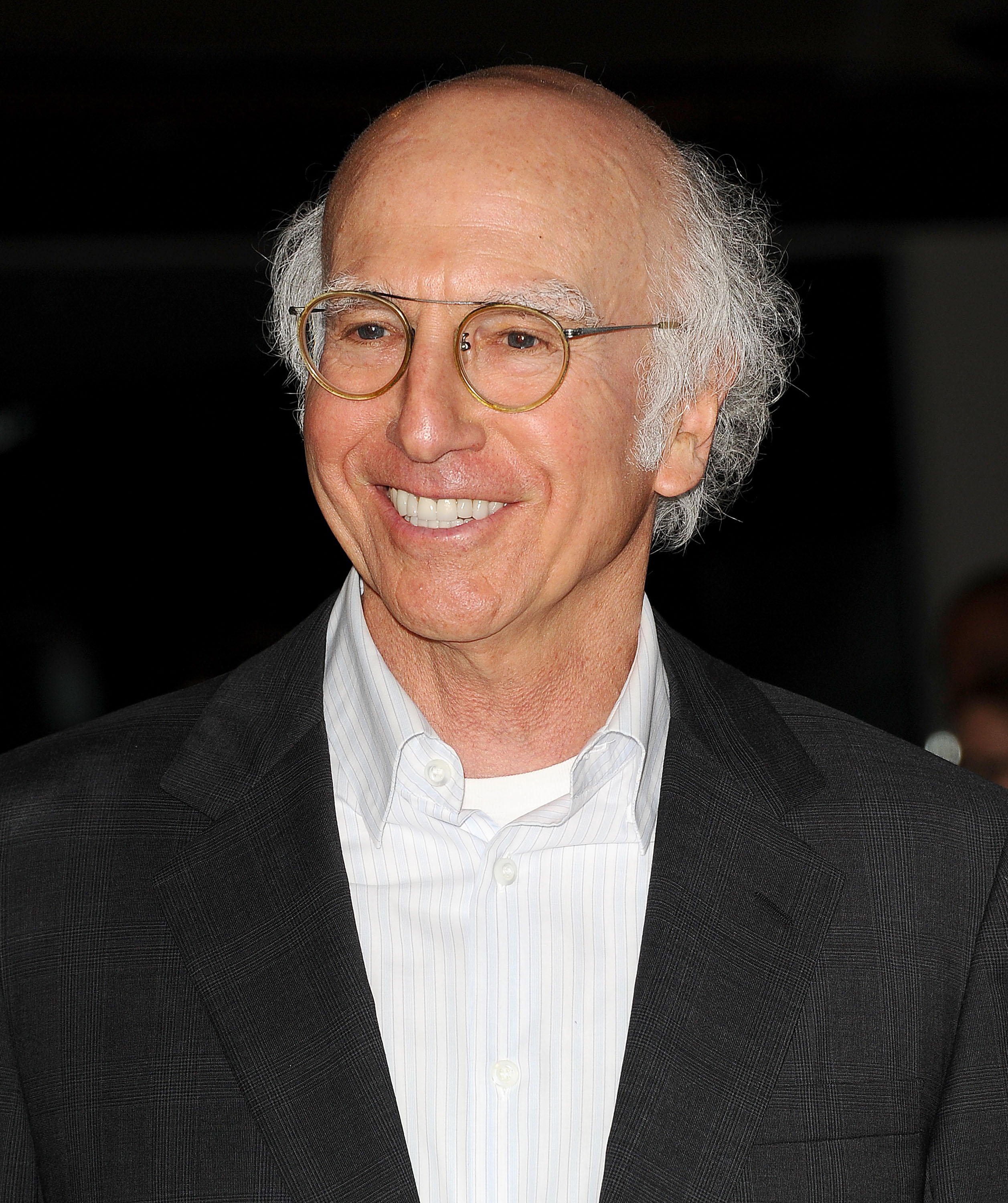 Larry David attends the premiere of  Fed Up  at Pacfiic Design Center on May 8, 2014 in West Hollywood, California.