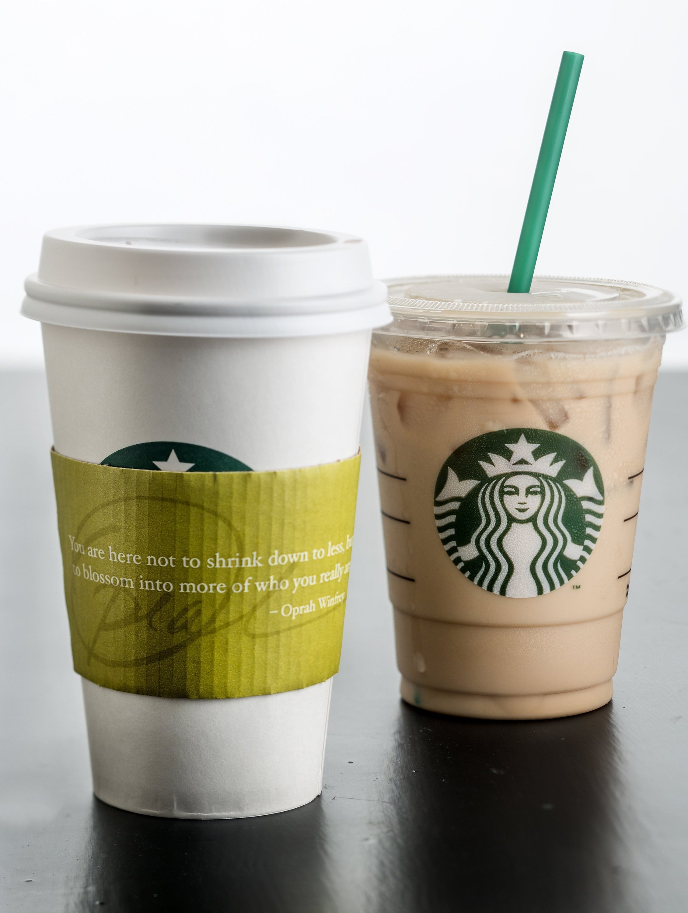 Chai tea from Oprah Winfrey is available in hot and cold servings at Starbucks.