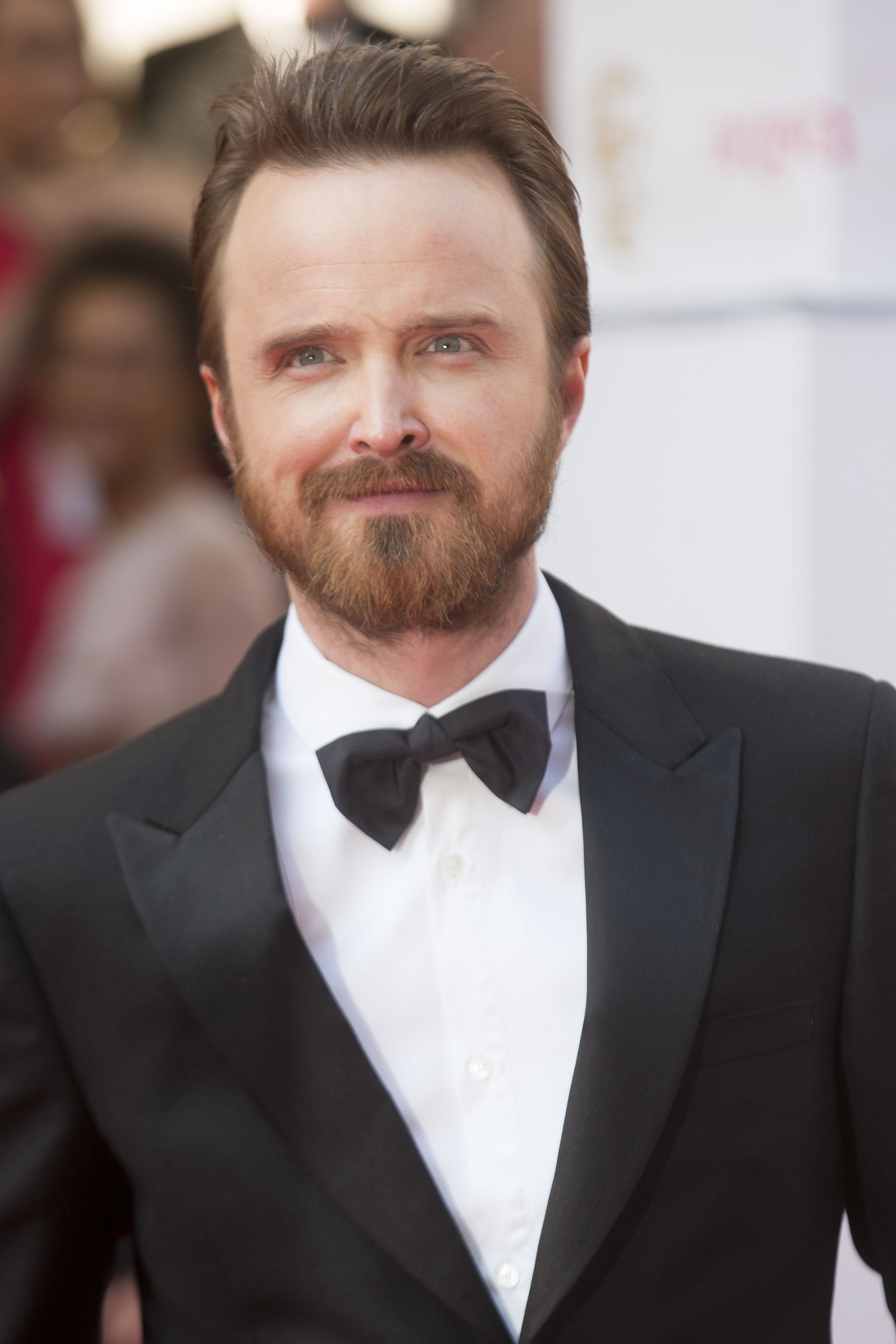 Aaron Paul attends the Arqiva British Academy Television Awards at Theatre Royal on May 18, 2014 in London.