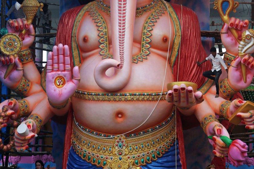APTOPIX India Hindu Festvial