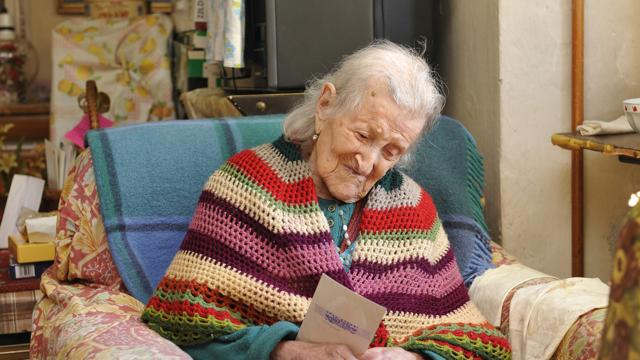 Emma Morano-Martinuzzi was born on Nov. 29, 1899 and is 114 years old.