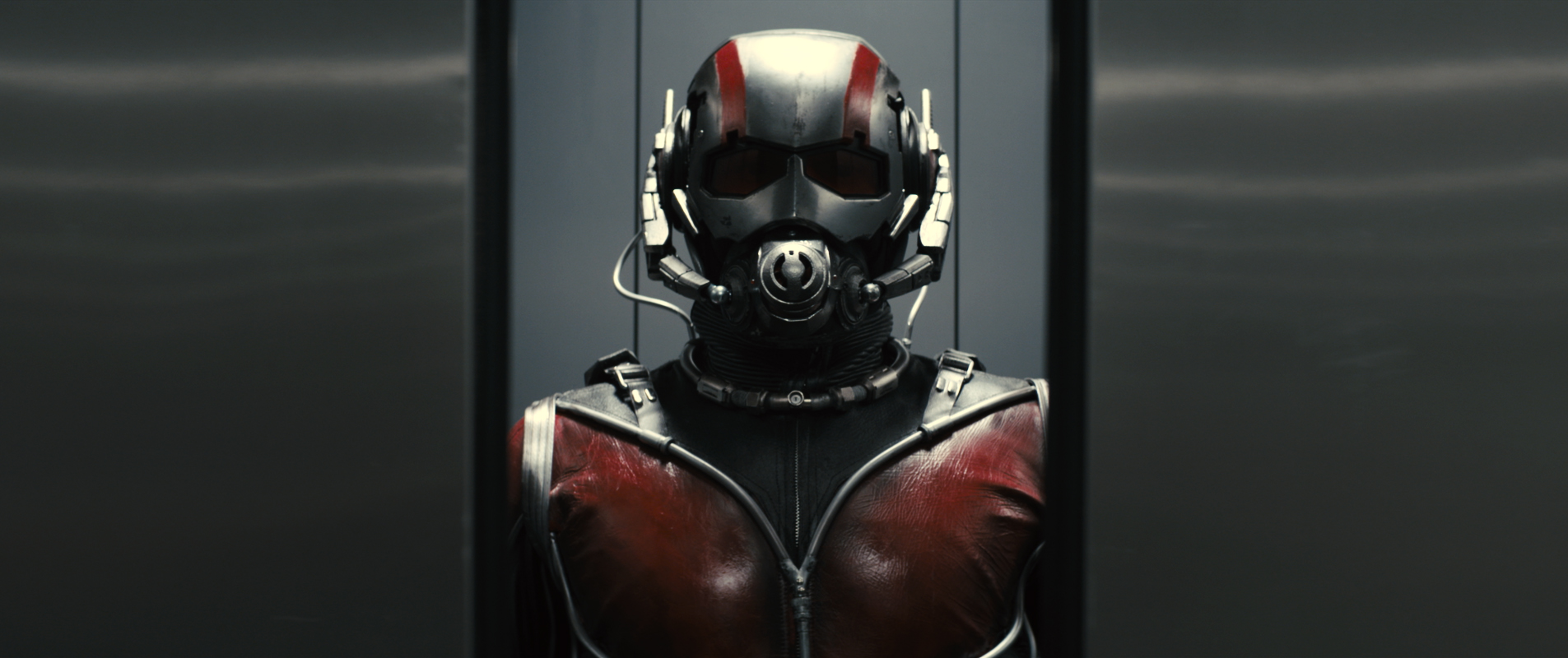 The Ant-Man suit is originally created by Dr. Hank Pym, played by Michael Douglas.