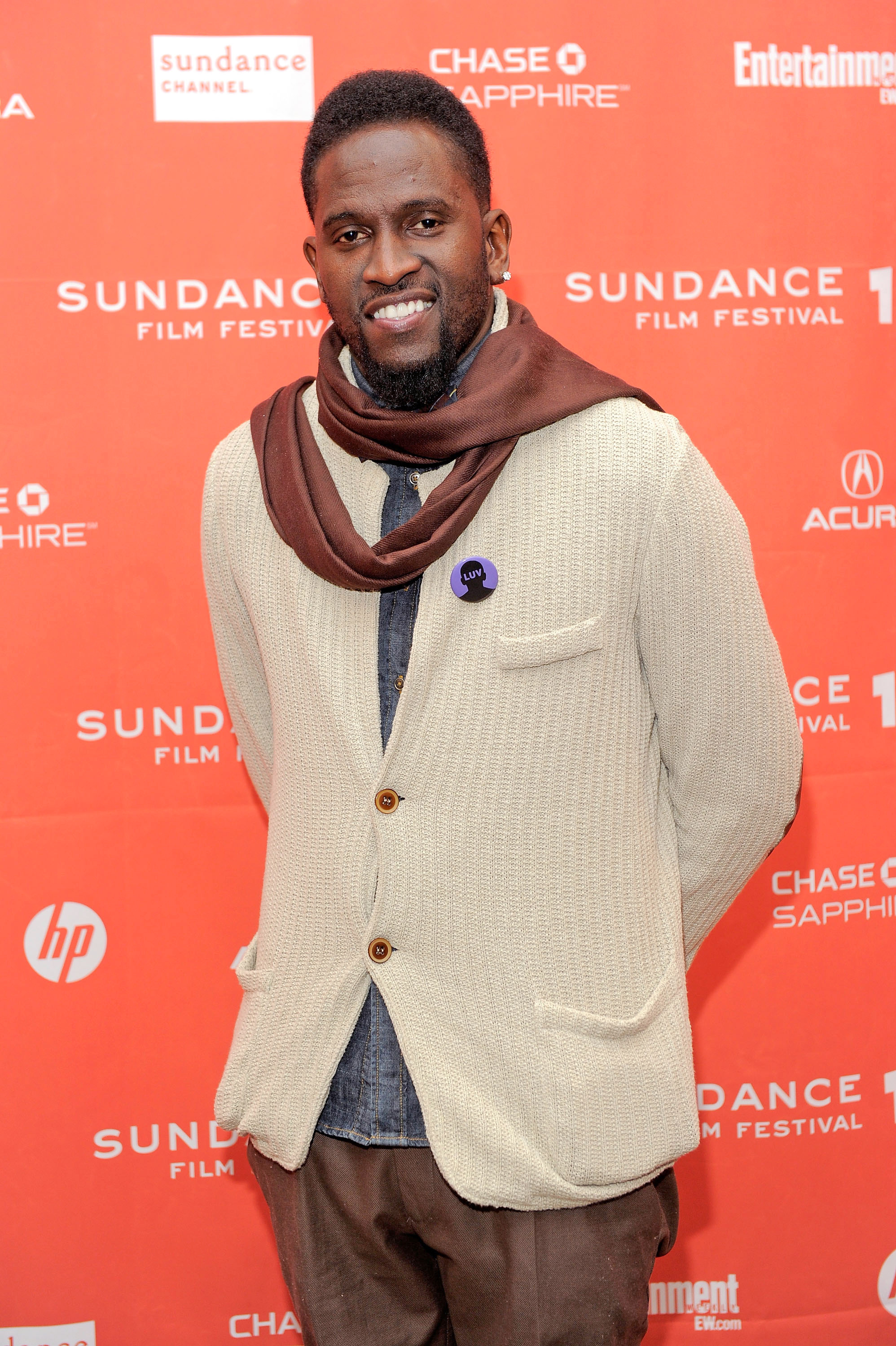 Anwan Glover attends the  LUV  premiere during the 2012 Sundance Film Festival held at Eccles Center Theatre on Jan. 23, 2012 in Park City, Utah.