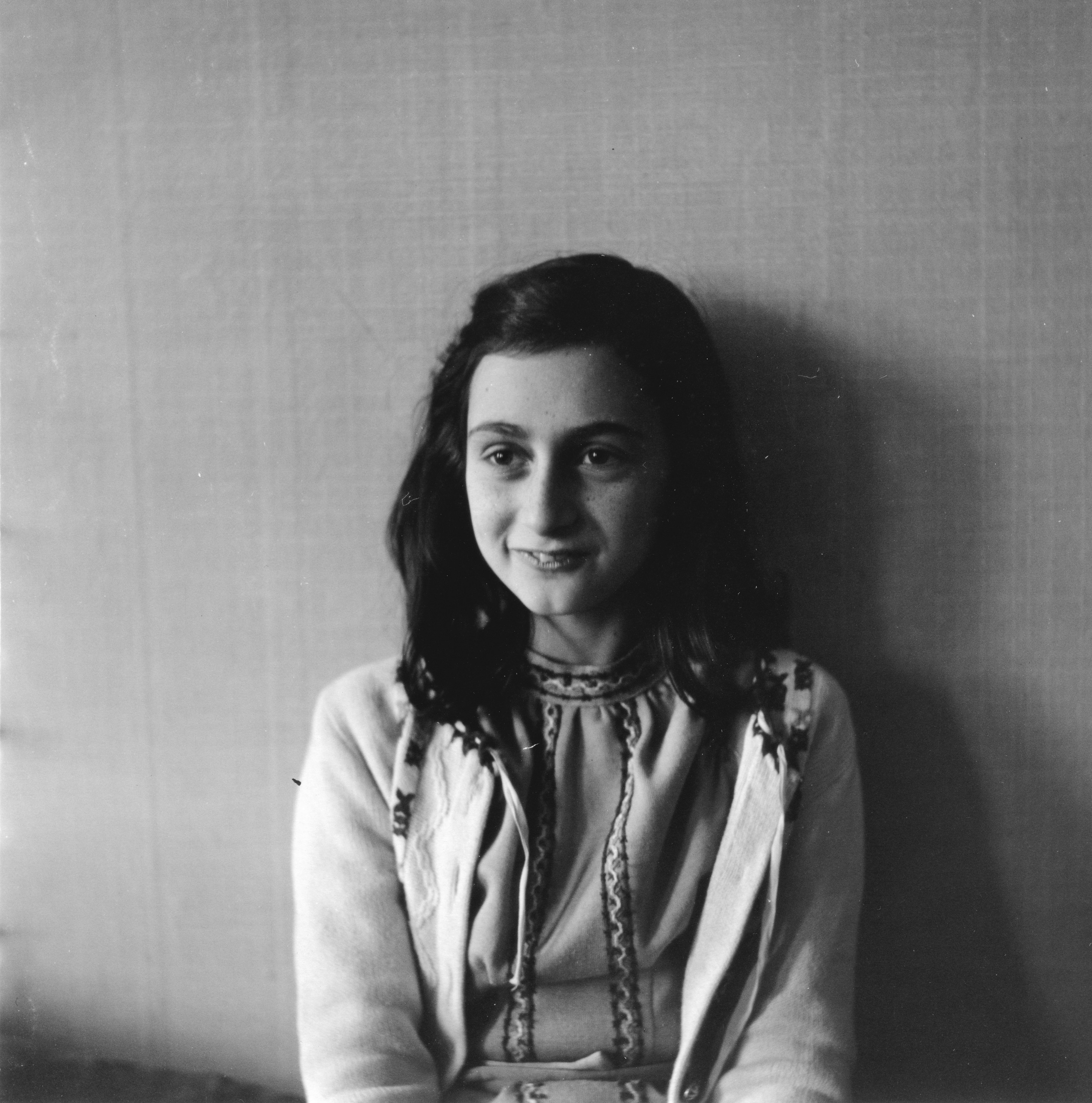 Anne Frank poses in 1941