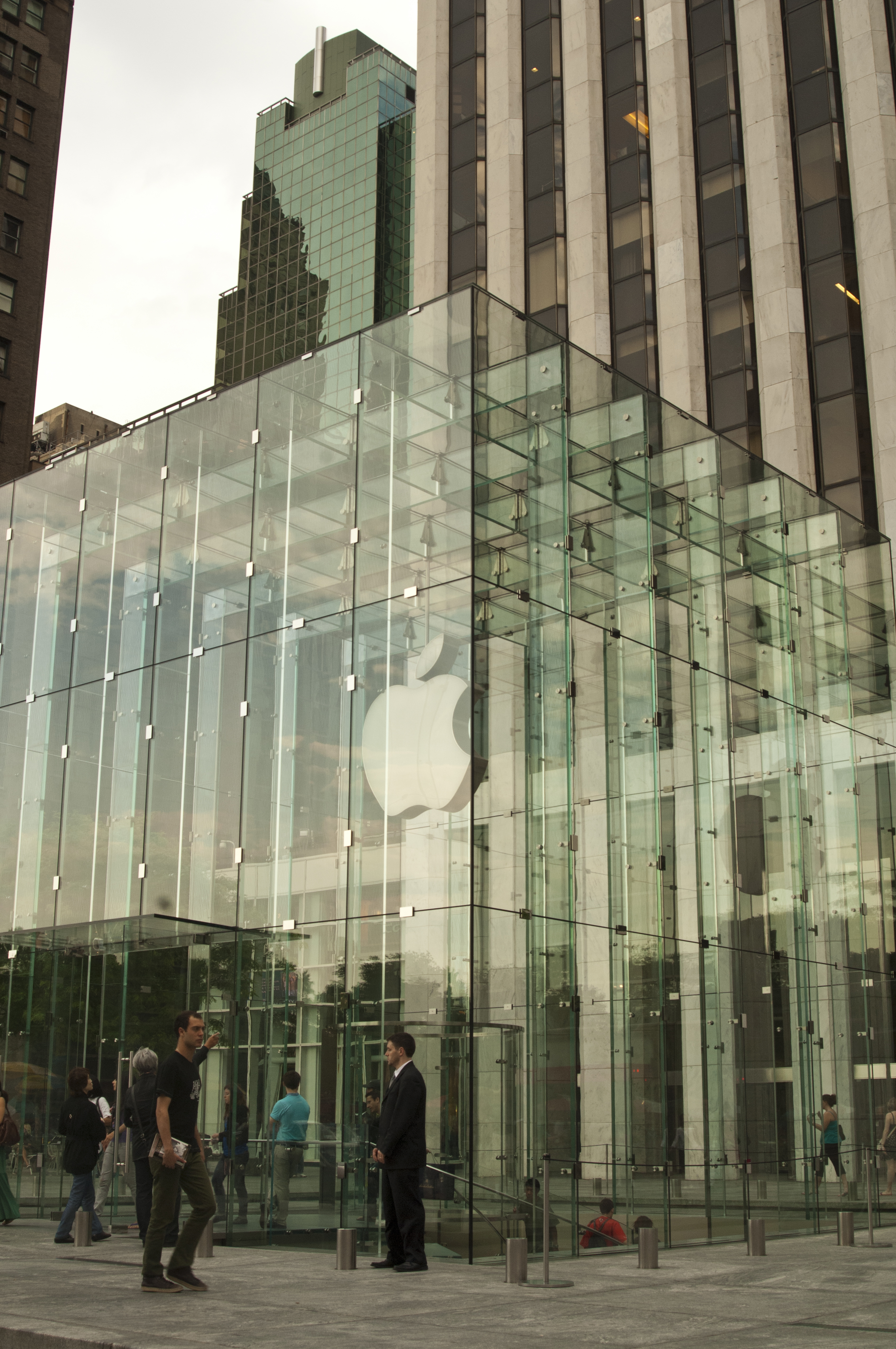 An Apple store in New York, New York.