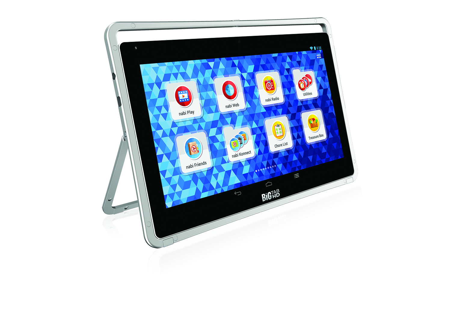 Fuhu's Big Tab tablet boasts a screen as large as 24 inches.