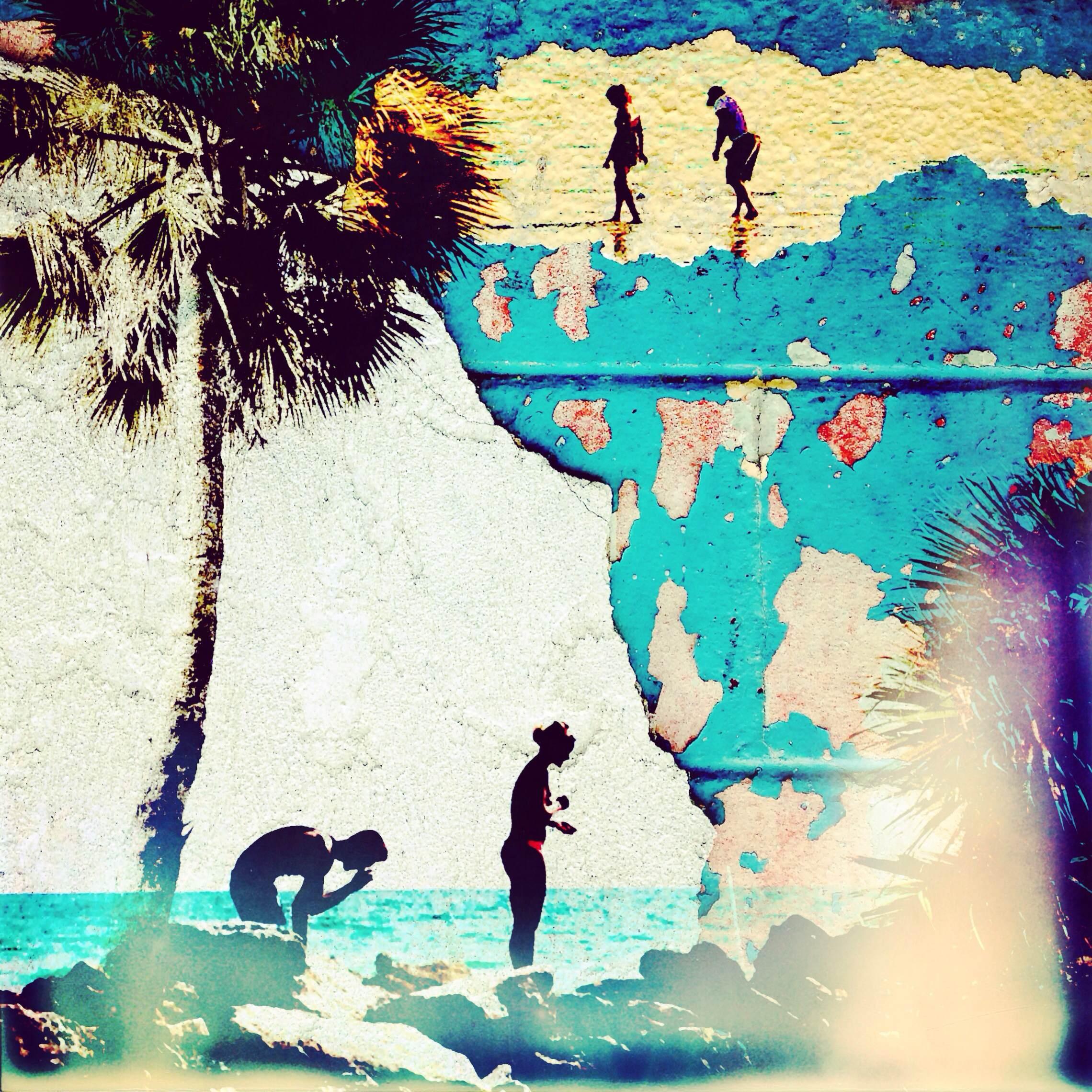 Facade,  Sarasota, Fl. #crumbling #paint #beach #florida #sarasota                               @chiplitherland