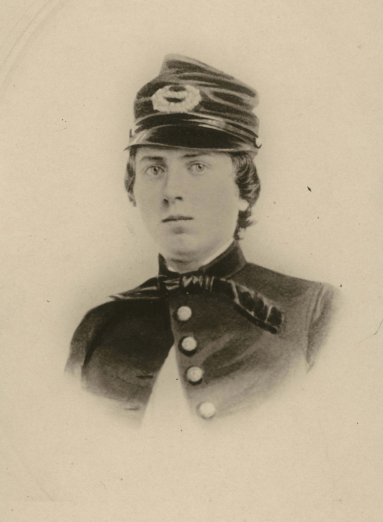 This undated photo provided by the Wisconsin Historical Society shows First Lieutenant Alonzo Cushing