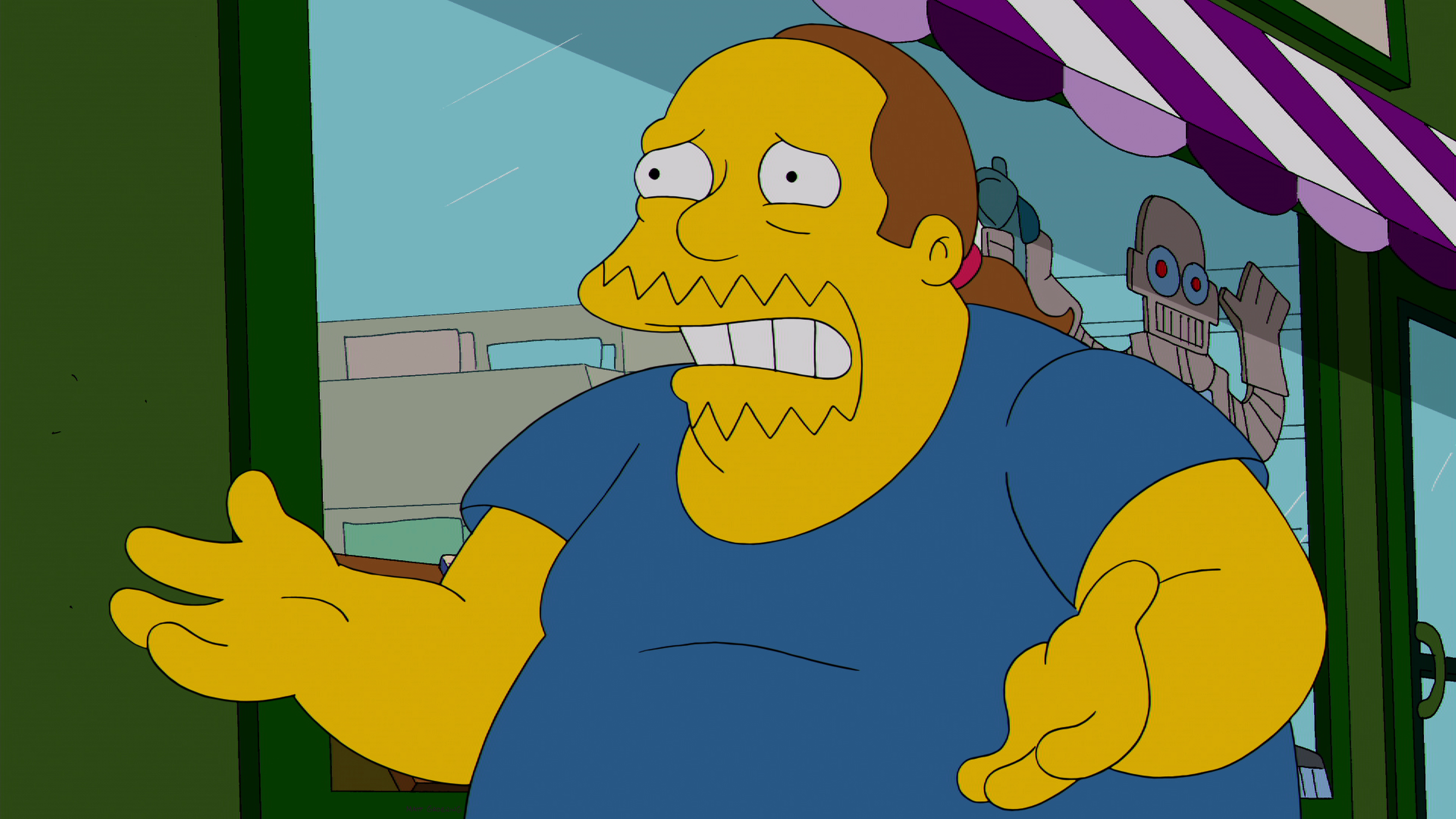 Comic Book Guy of The Simpsons