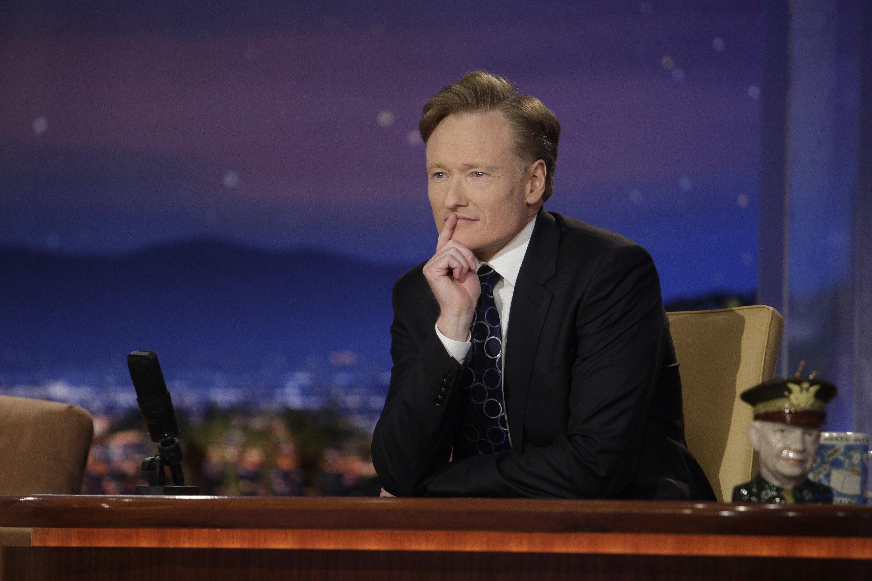 Host Conan O'Brien on June 2, 2009