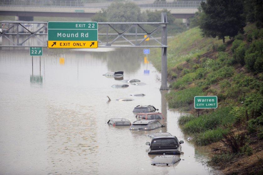Flooding Michigan