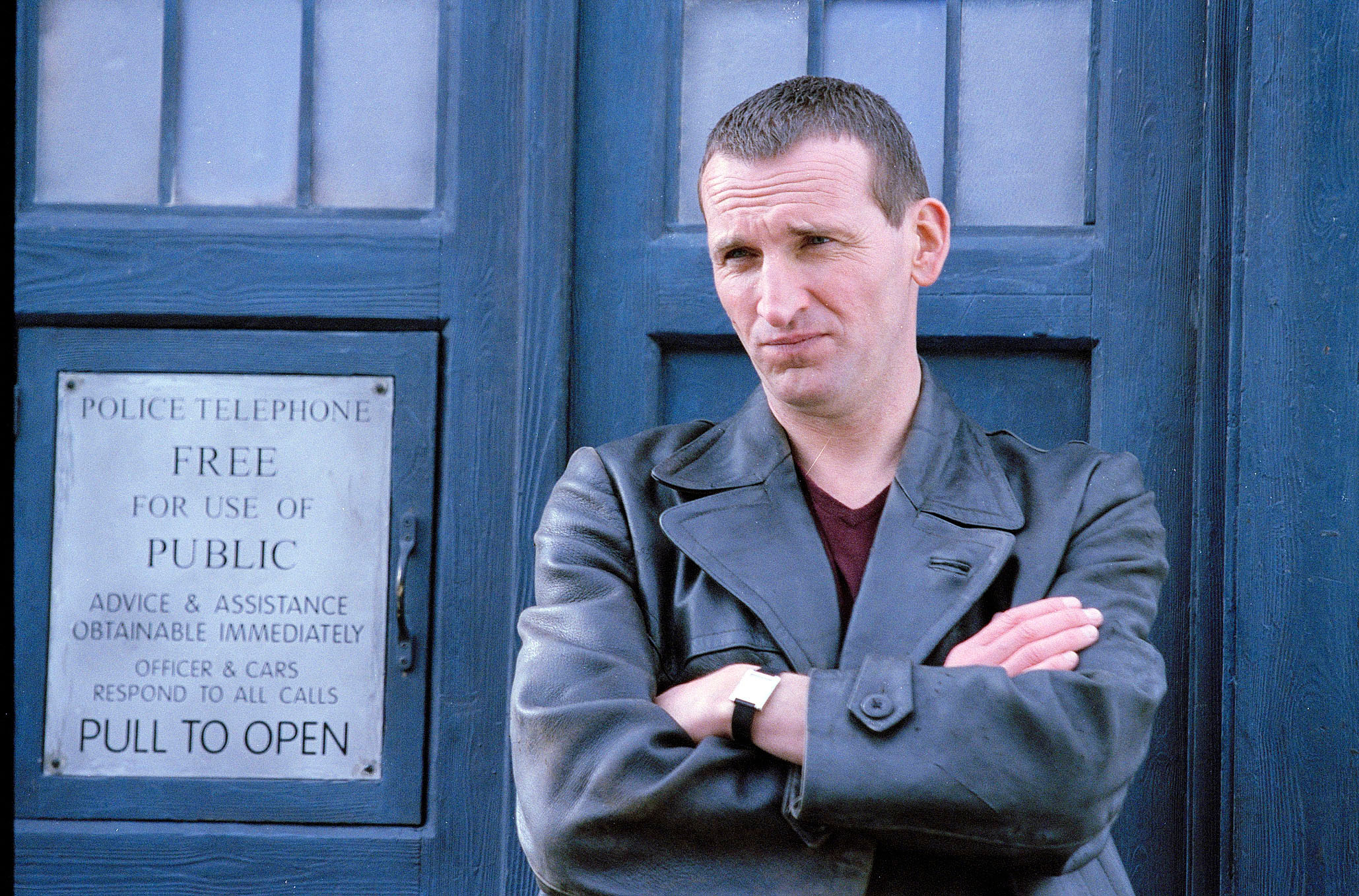 <strong>Ninth Doctor - Christopher Eccleston</strong>