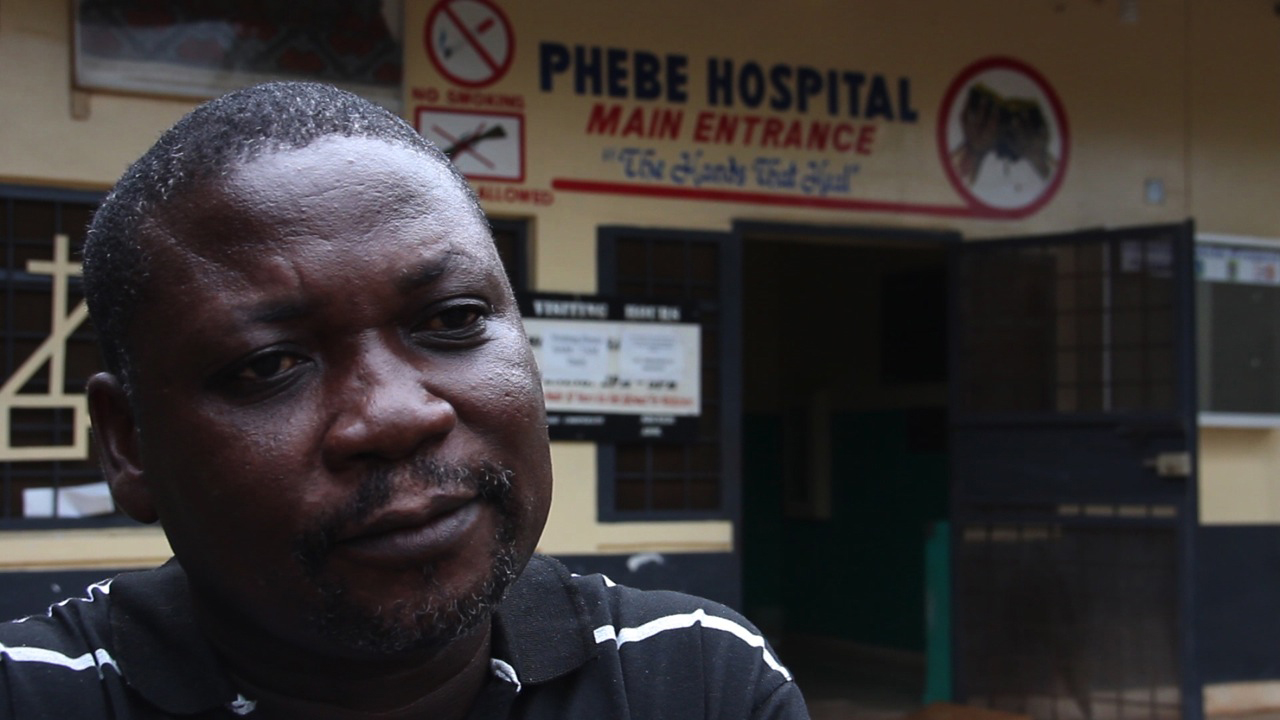 Dr. Jefferson Sibley, the medical director of Phebe Hospital