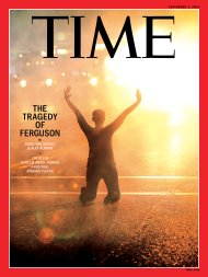 Ferguson Tragedy Time Magazine Cover