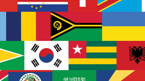 Every National Flag S Colors