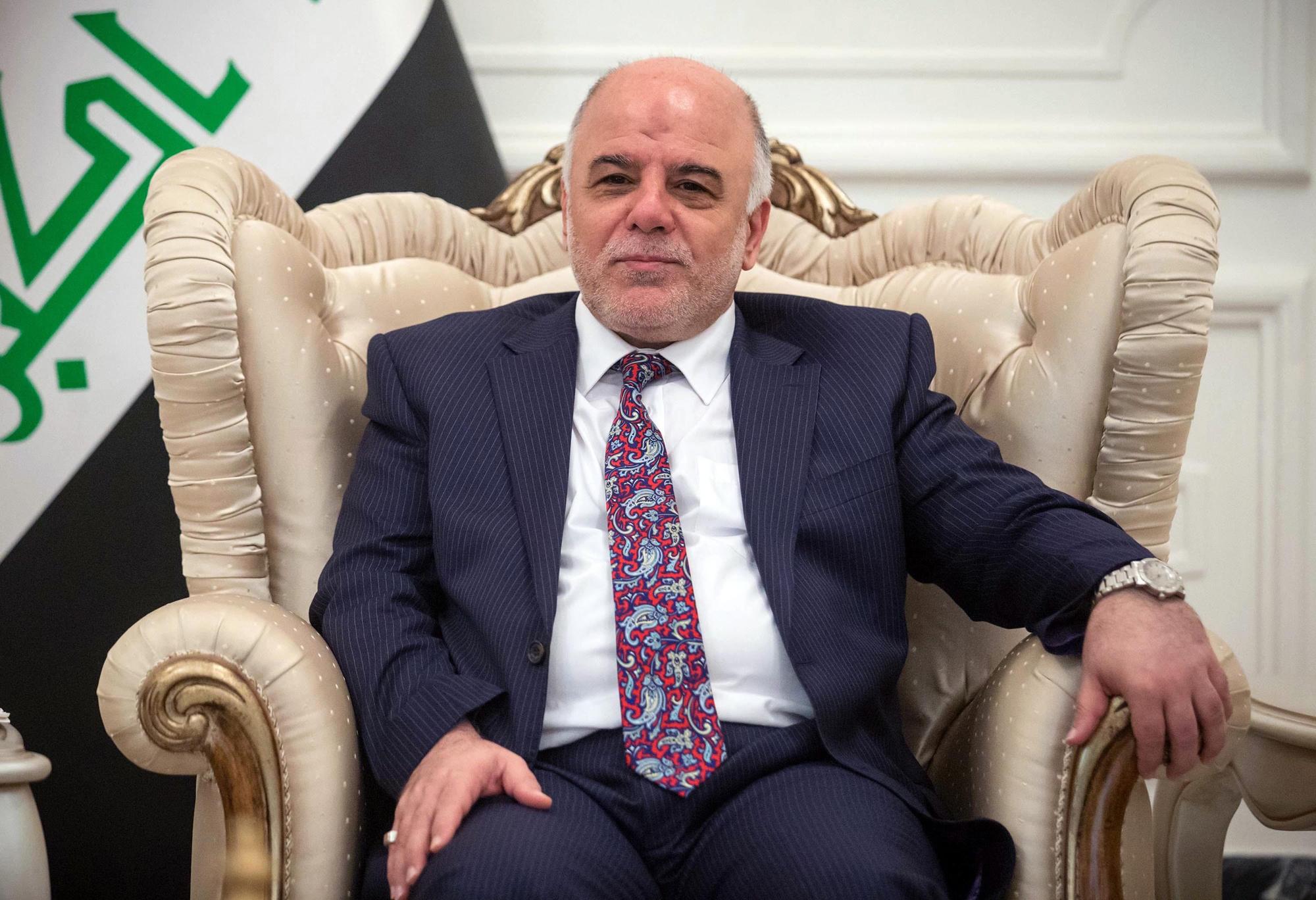 Iraq's new prime minister Haidar Al-Abadi in Bagdad, Aug. 16, 2014.