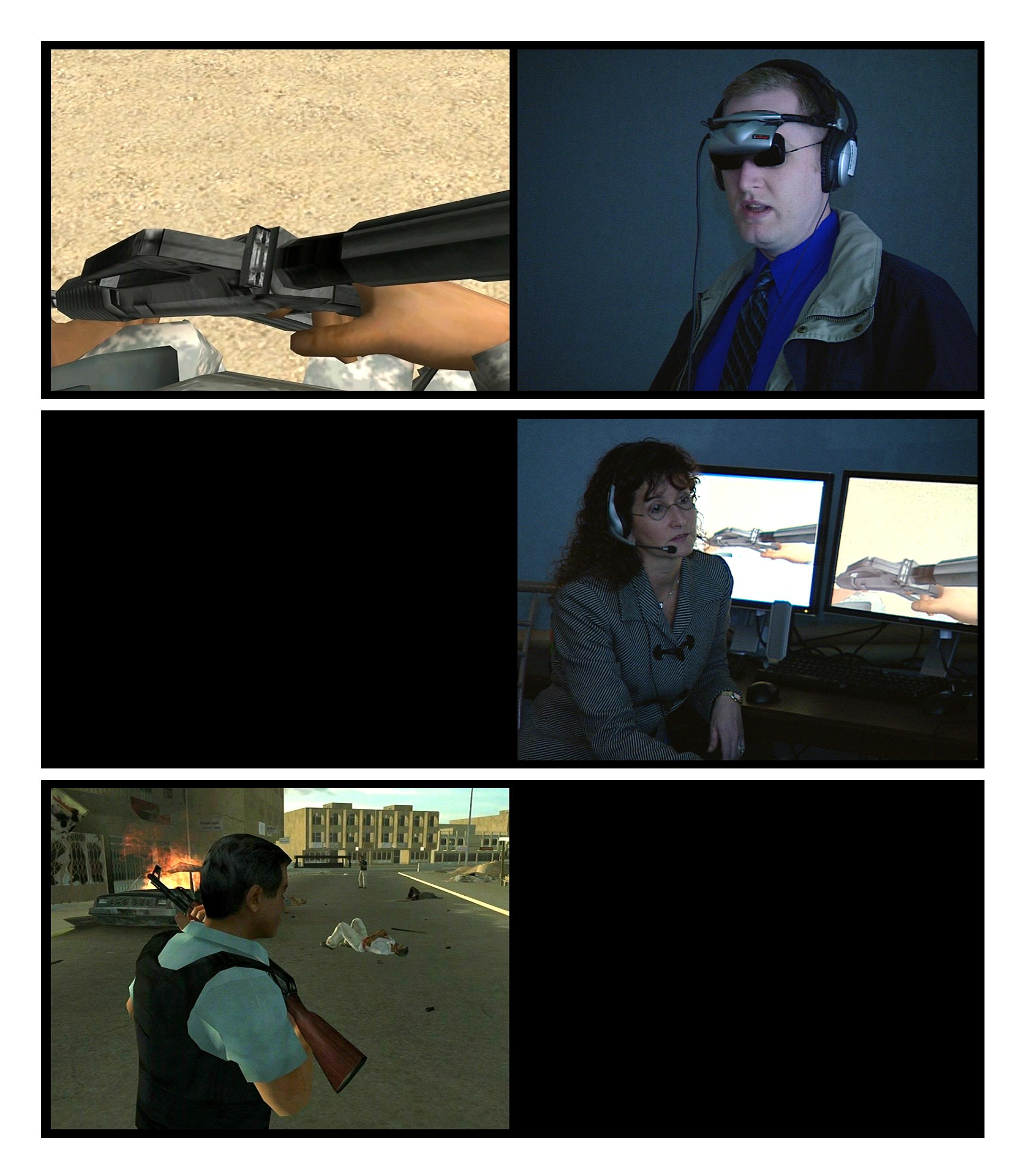 Serious Games III: Immersion (stills), 2009