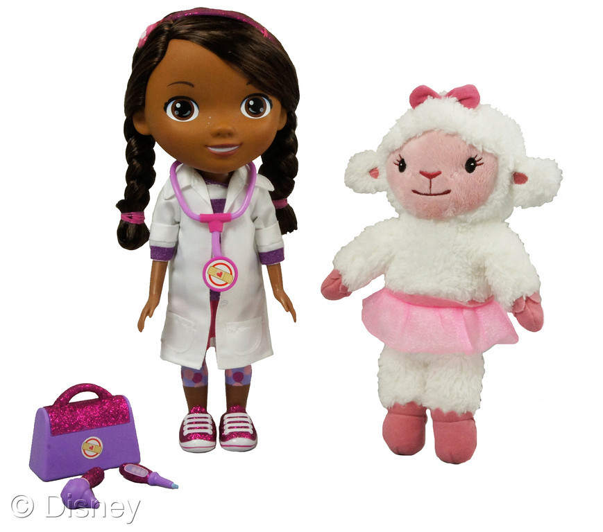 'Time for Your Checkup' Doc McStuffins Doll with Lambie