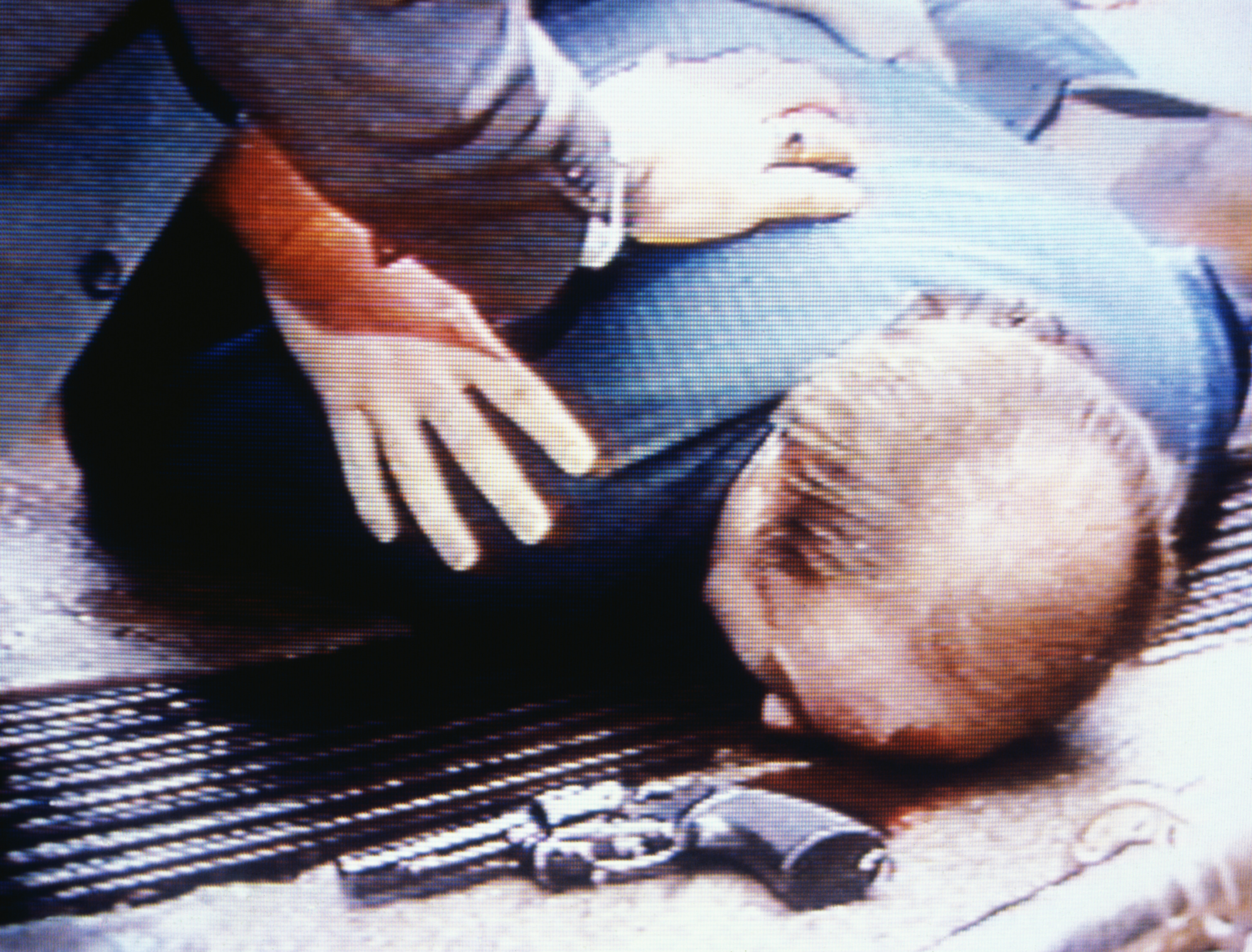 White House press secretary Jim Brady lies wounded on sidewalk after a gunman fired several shots at President Ronald Reagan and his party after he delivered a speech at a Washington hotel in Washington on March 30, 1981.