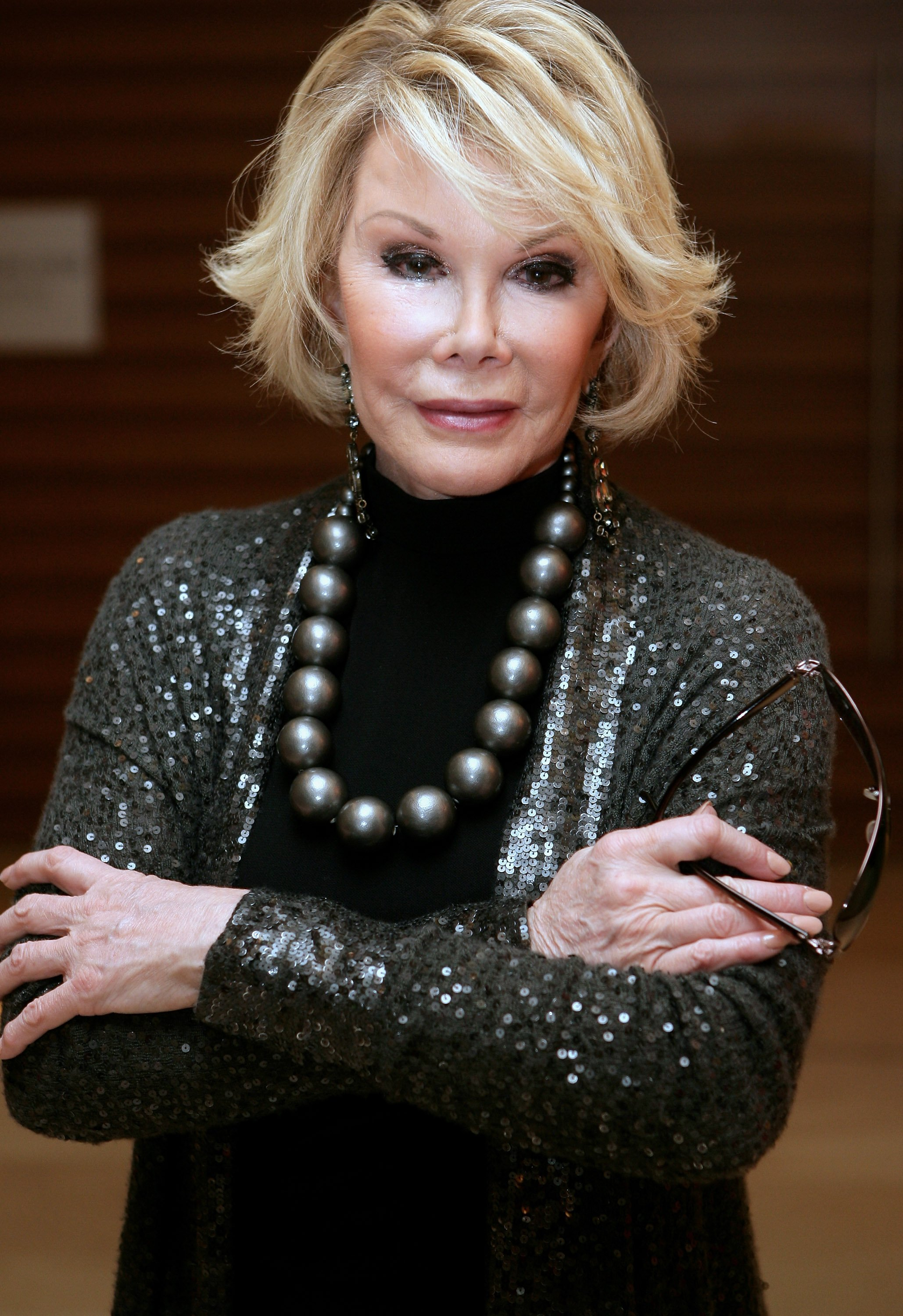 Joan Rivers  attends the 2009 Mardi Gras VIP party at the Zeta Bar of the Hilton Hotel in Sydney on March 5, 2009