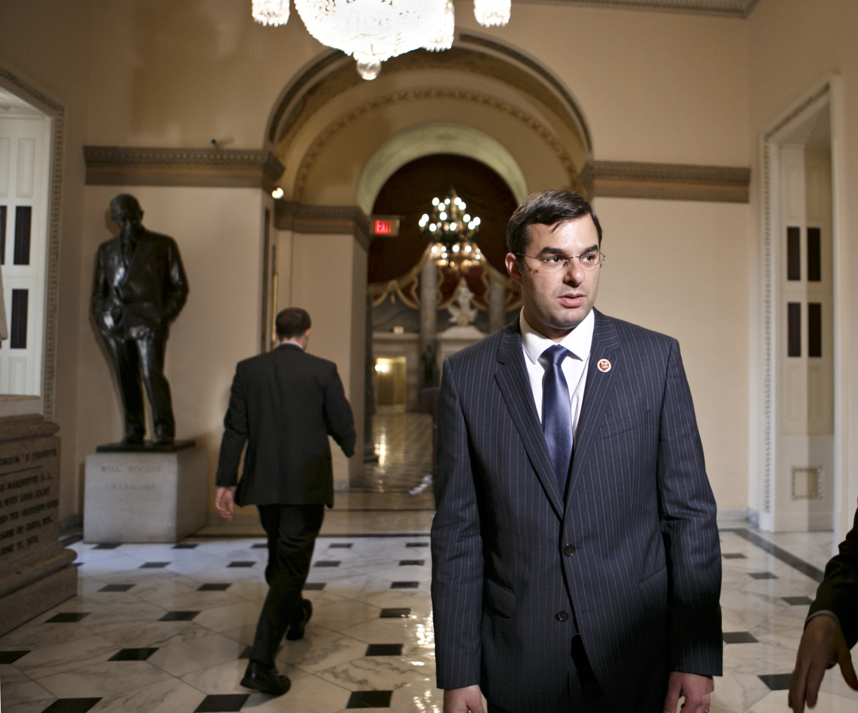 Rep. Justin Amash, R-Mich., at the Capitol on July 24, 2013.