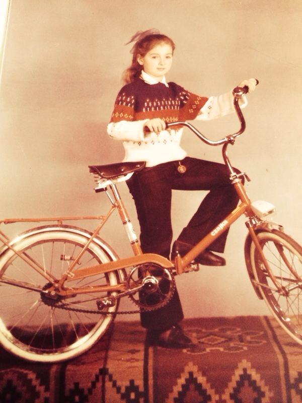 Kira Makagon  as a child
