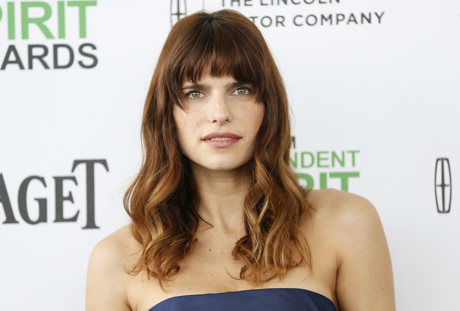 Actress Lake Bell arrives at the 2014 Film Independent Spirit Awards in Santa Monica, California on March 1, 2014.