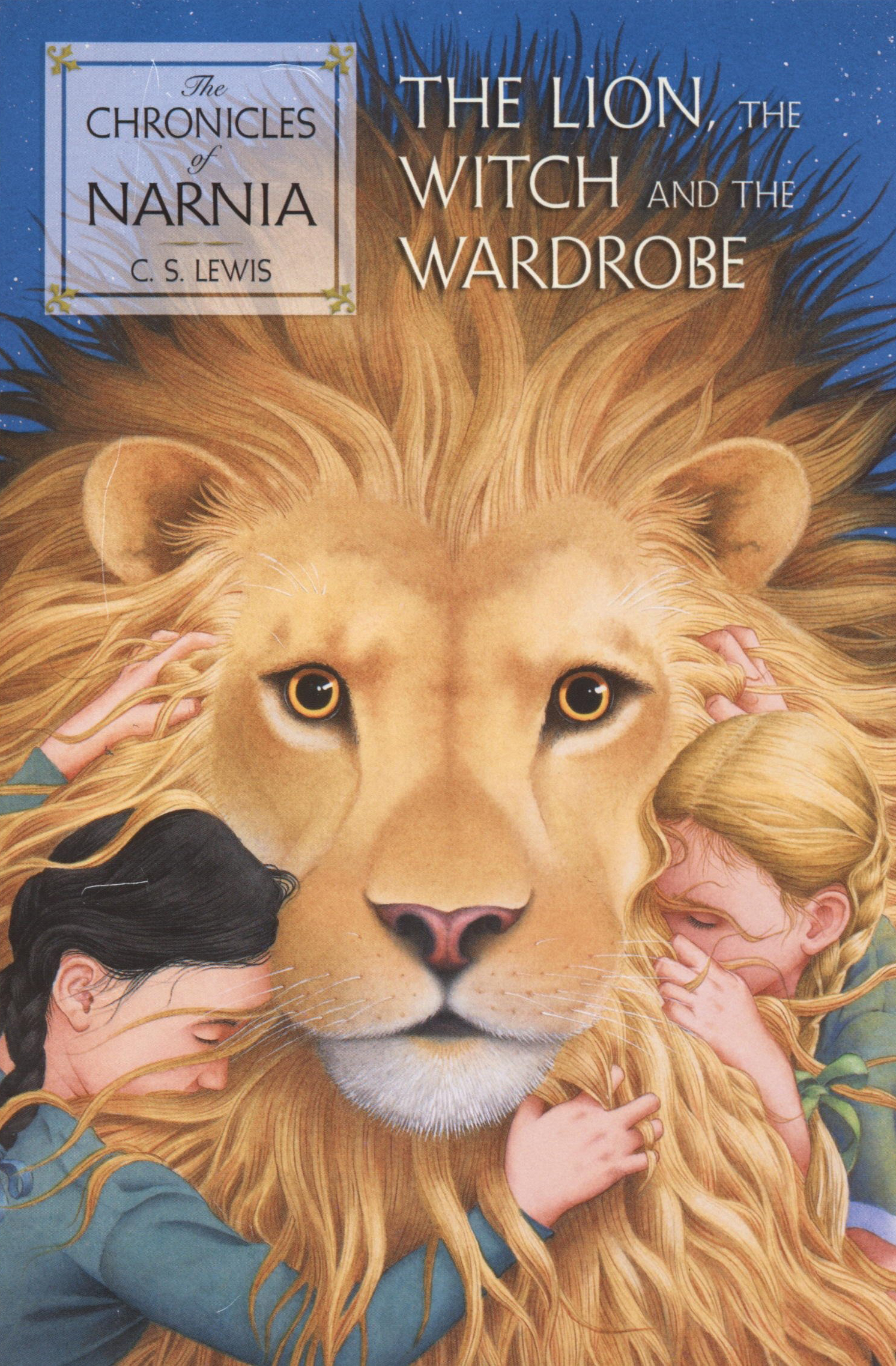 The Lion, the Witch and the Wardrobe by C.S. Lewis                                The moment when Lucy Pevensie pushes her way past those old fur coats and through the wardrobe into Narnia is ground zero for modern fantasy: instead of splitting the atom Lewis splits the world, into dreary ration-book wartime England and the fresh, exciting, enchanted world of Narnia. Lewis's books teem with psychological insight and writerly craft: he wrote fantasy using the tools of realism, concretely and precisely, and with a kind of frank honesty barely ever seen in books for children. His blind spots were many—his treatment of women characters is, in places, beyond unfortunate—but what he saw, he saw with the power and clarity of a true visionary.