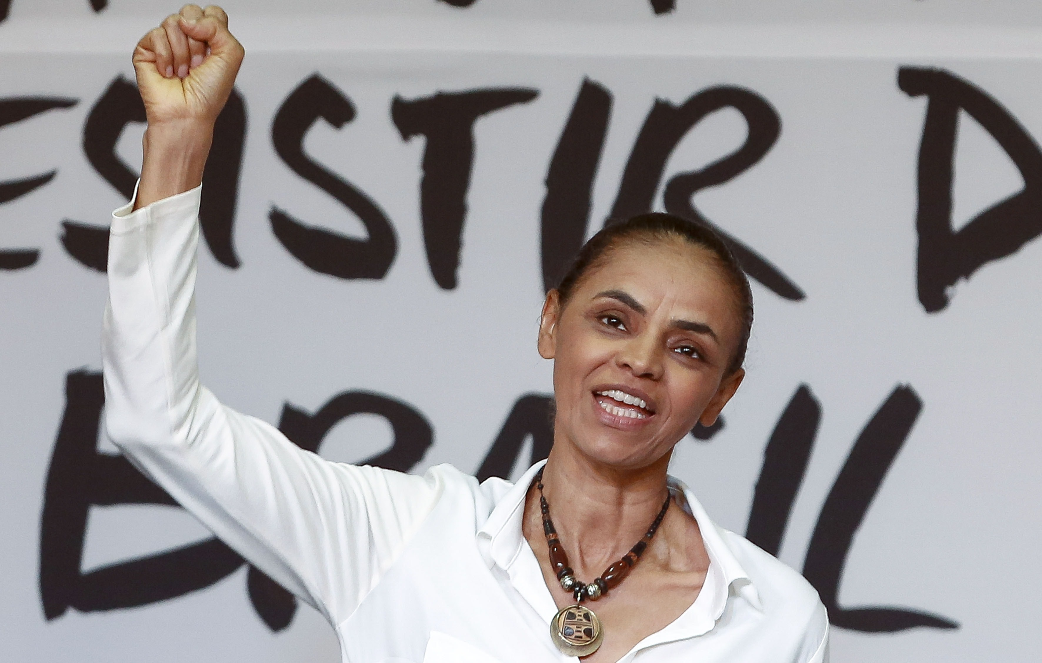 Marina Silva, the presidential candidate of the Brazilian Socialist Party