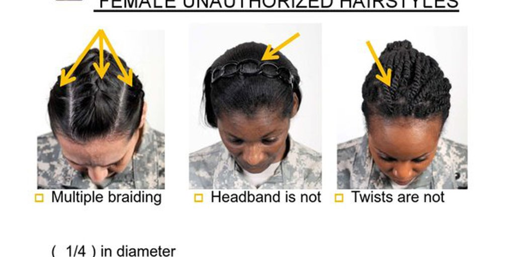 Military Rolls Back Restrictions On Black Hair Styles Time