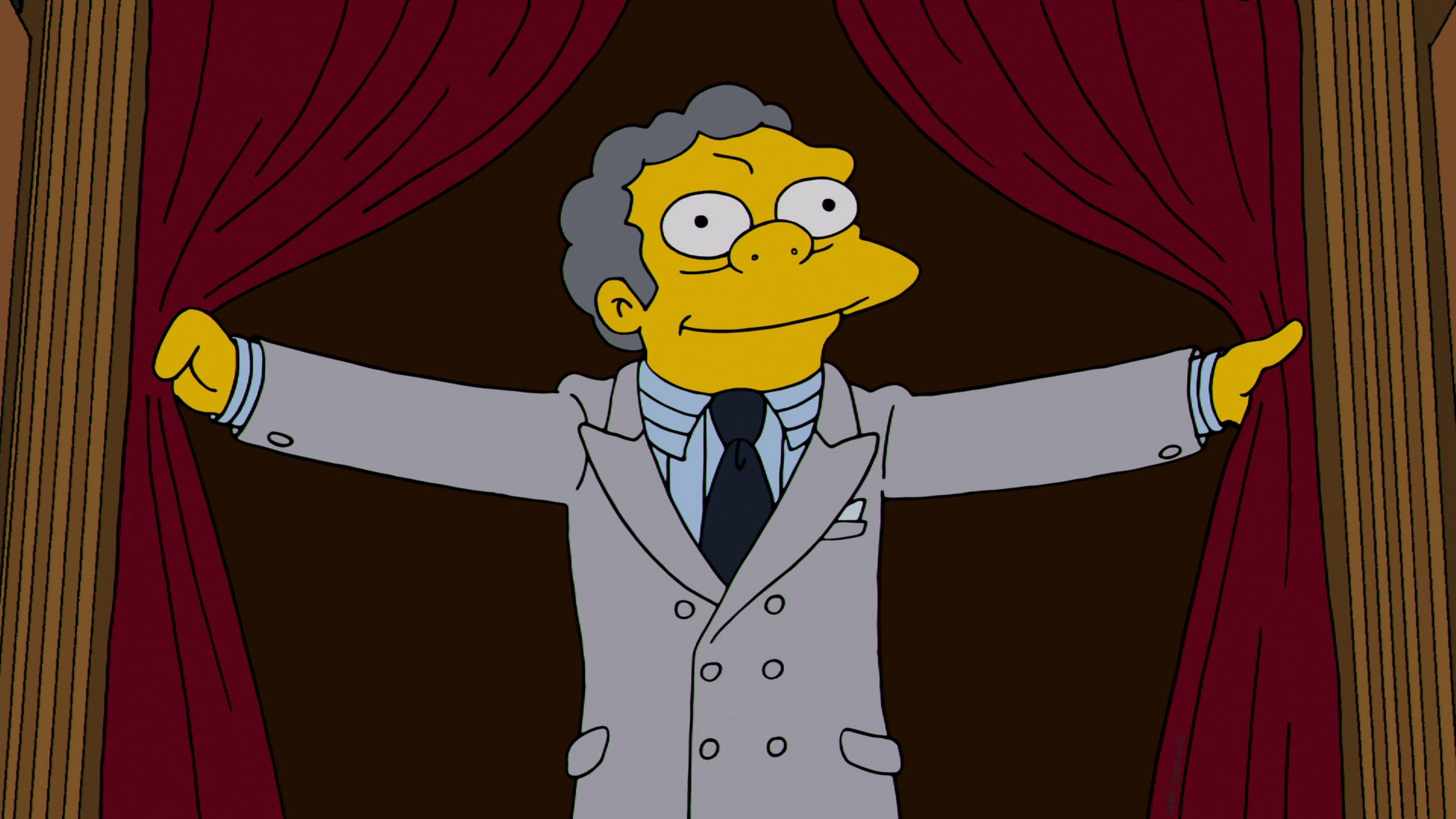 Moe of The Simpsons