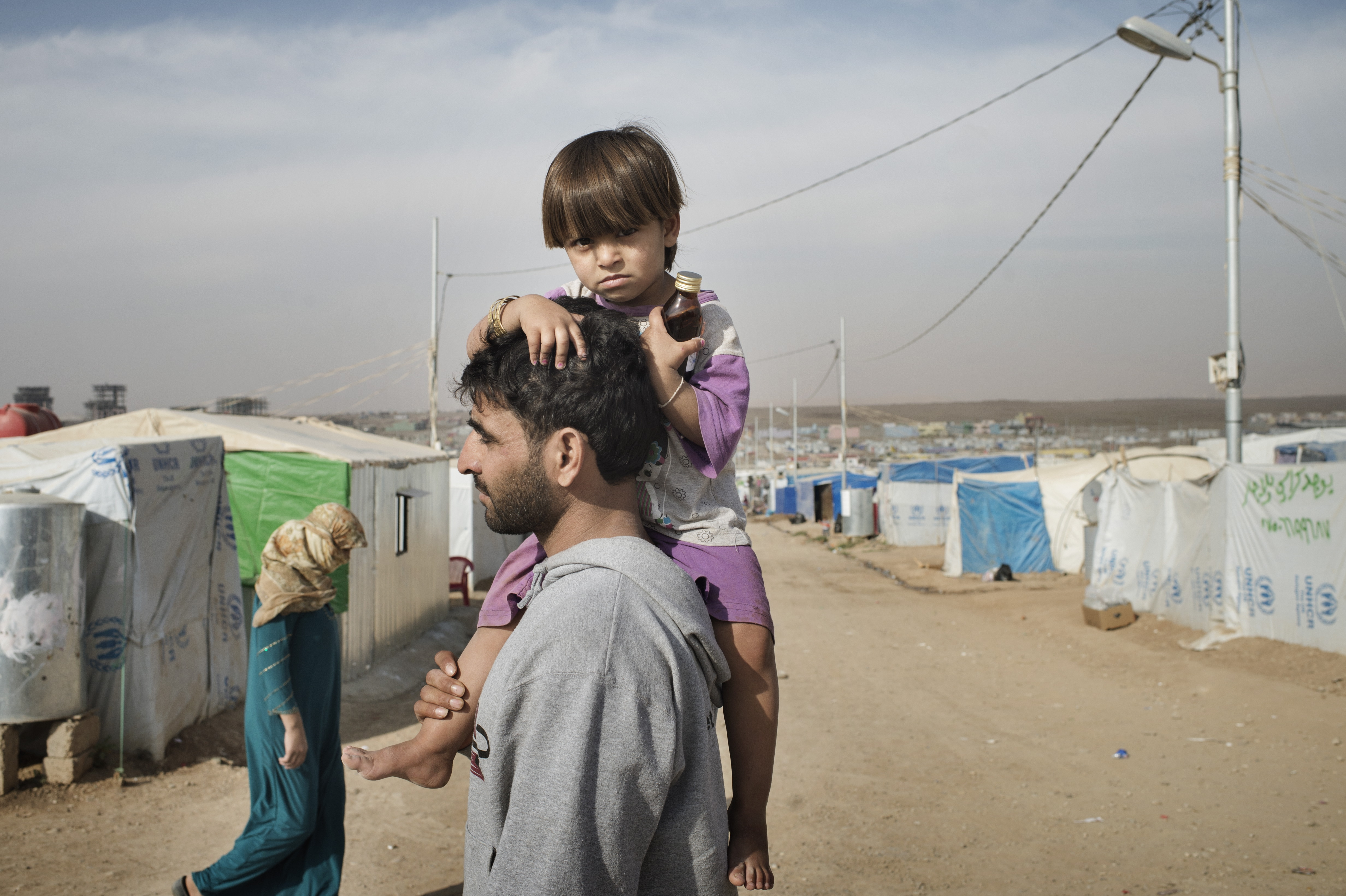 Domiz Refugee Camp was established by local authorities back in April 2012 to host the Syrian Kurds. The camp located 12 miles southeast of Dohuk city, in Iraqi Kurdistan and some 40 miles from the Syria/Iraq border. So far the total number of Syrian refugees in Kurdistan region is 60,151.