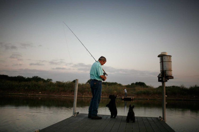 President Bush vacations on his ranch on August 24, 2007 in Crawford, Texas.