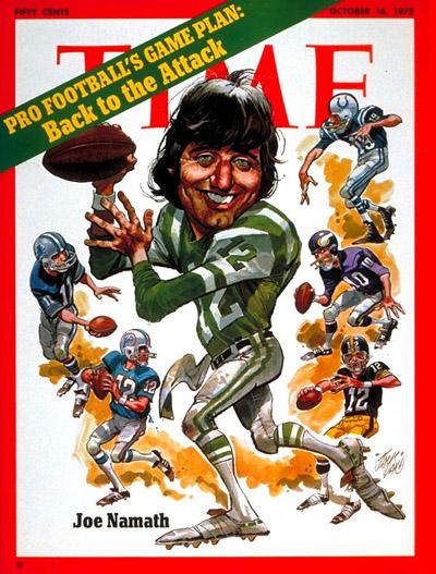 Oct. 16, 1972: Joe Namath, New York Jets