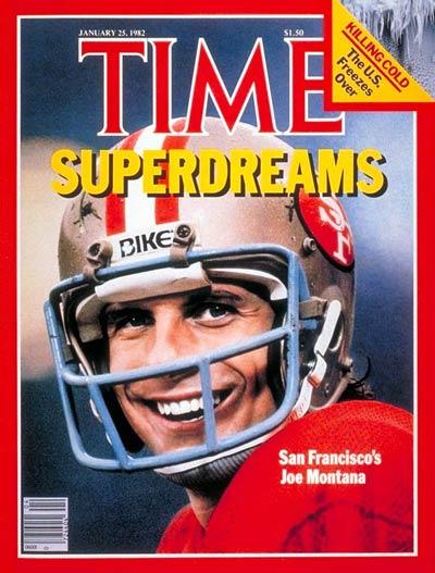 Jan. 25, 1982: Joe Montana, San Francisco 49ers