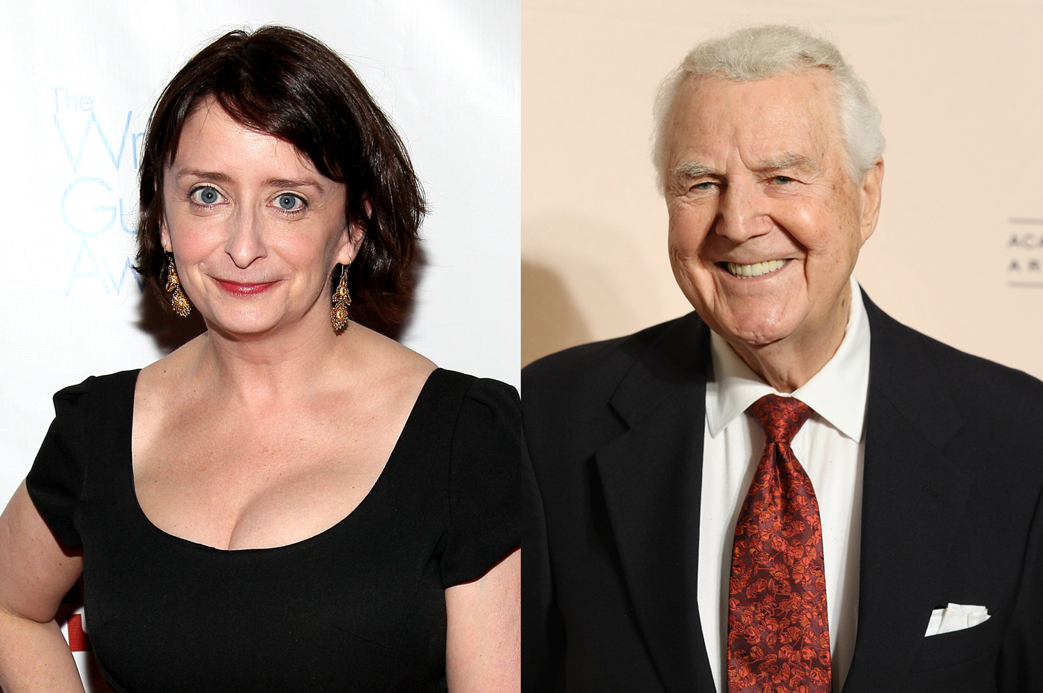 Rachel Dratch and Don Pardo.