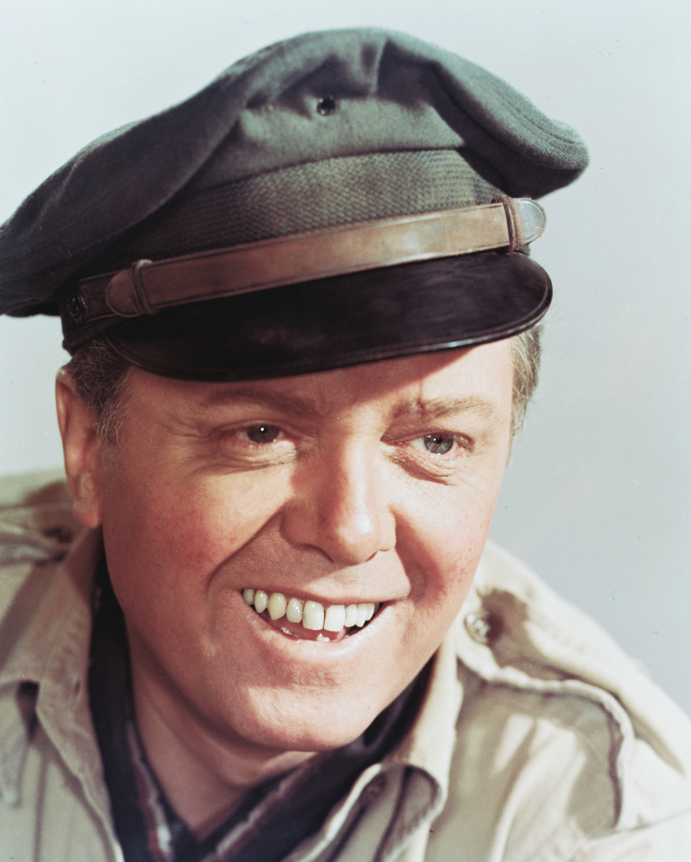 Richard Attenborough in a publicity portrait for the film The Flight of the Phoenix in 1965.