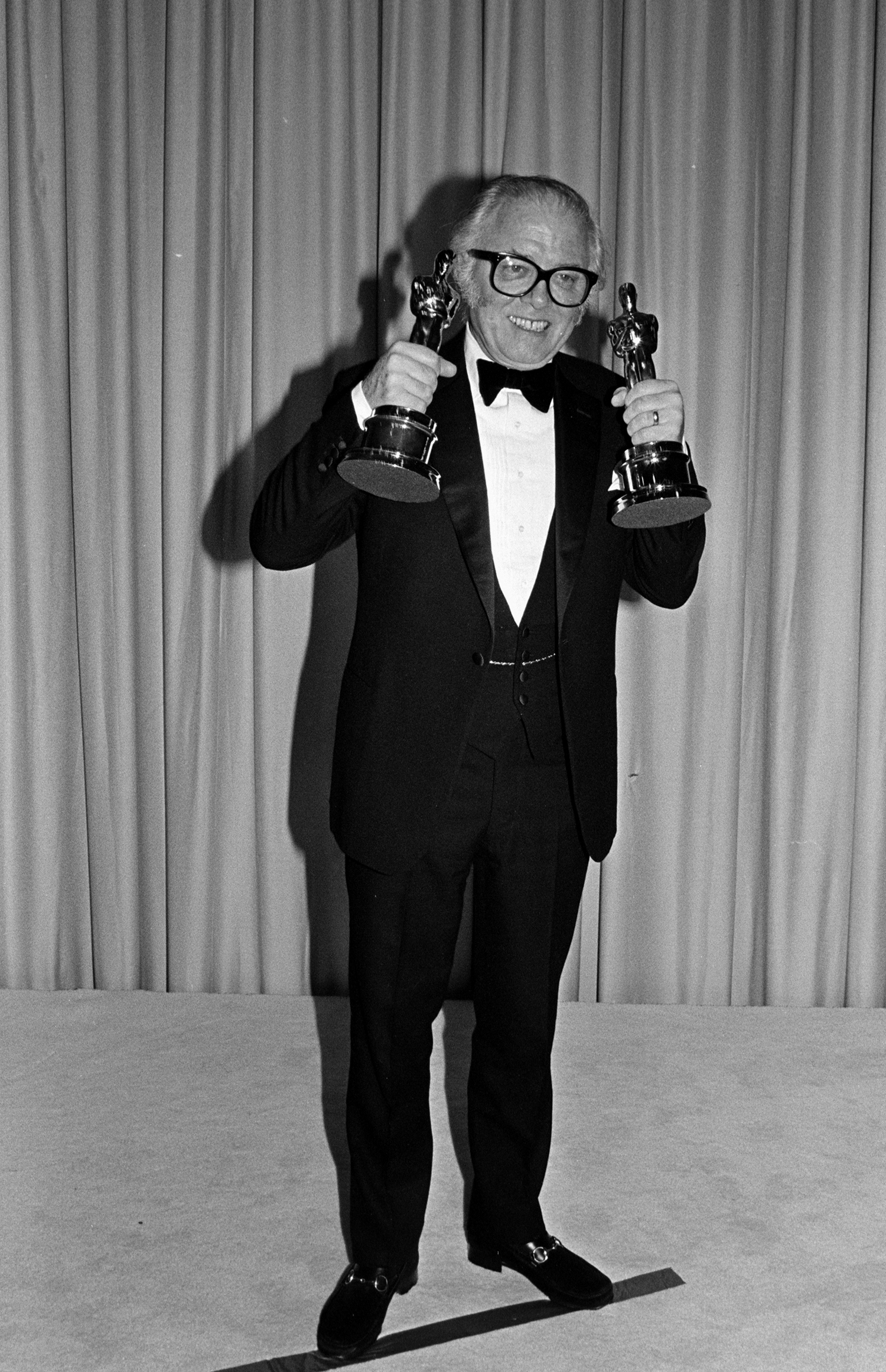 Richard Attenborough's 1982 biopic Gandhi would net him Oscars for both Best Picture and Best Director.
