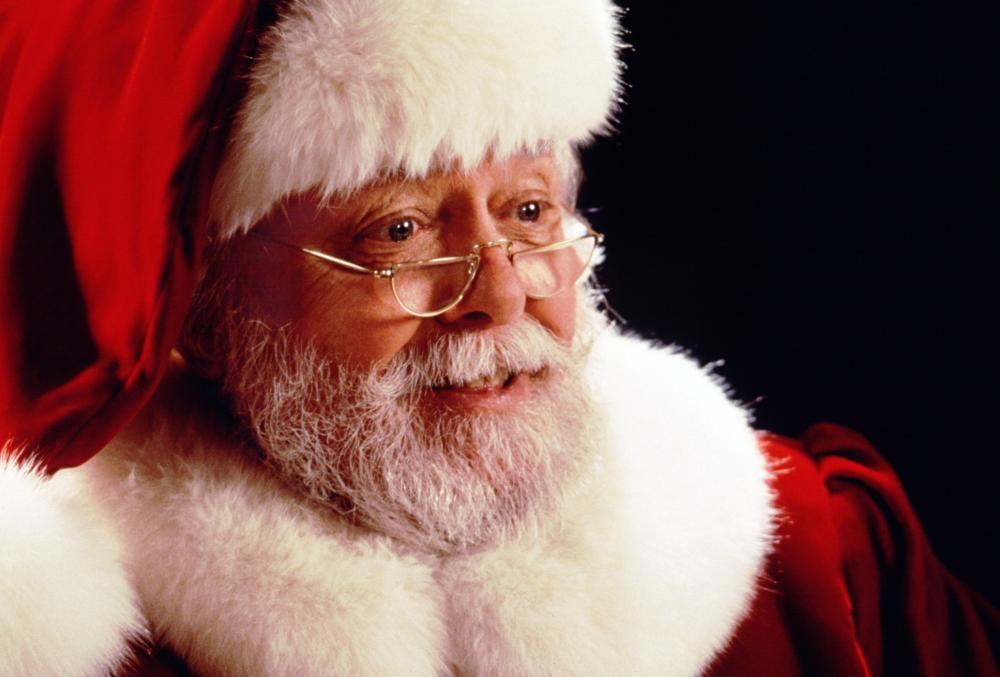 Richard Attenborough starred as Kris Kringle in John Hughes' 1994 Christmas film, Miracle on 34th Street.
