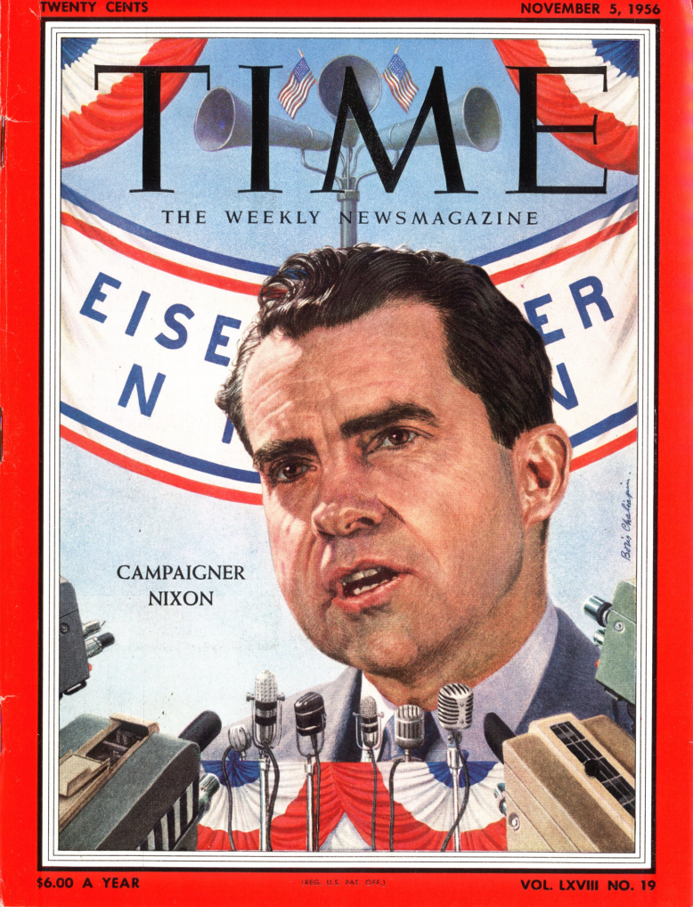 The Nov. 5, 1956, issue of TIME