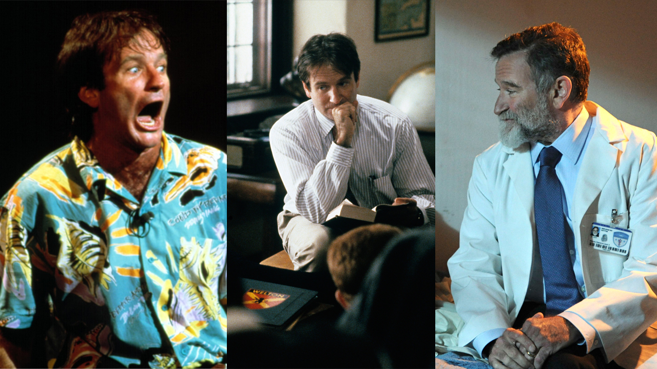 Robin Williams' characters showed his range as an actor