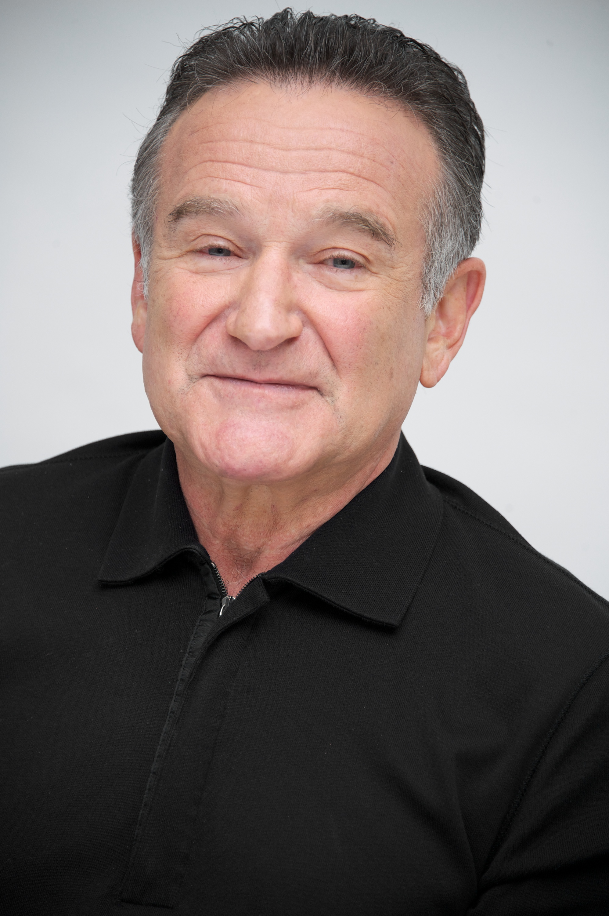 Robin Williams at  The Crazy Ones  Press Conference at the Four Seasons Hotel on October 8, 2013 in Beverly Hills, California.
