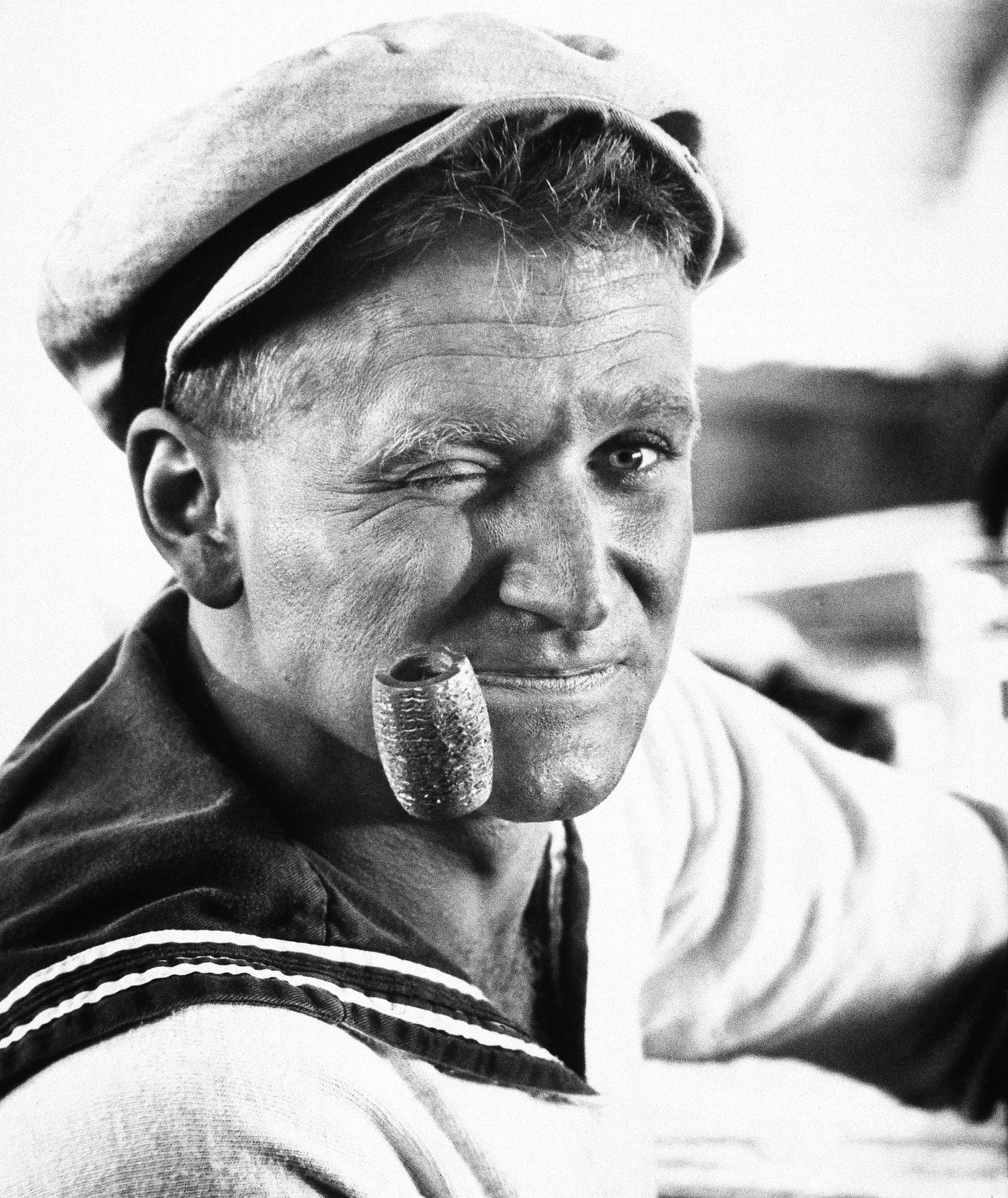 Actor Robin Williams, shown in character as Popeye in Dec., 1980.