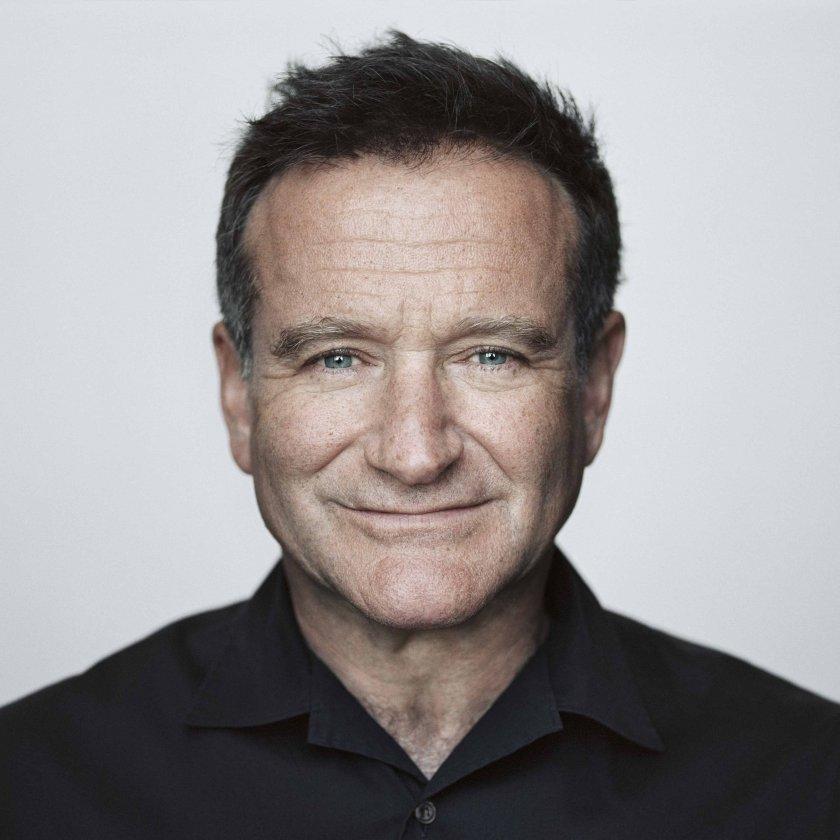Robin Williams Portrait by Brigitte Lacombe