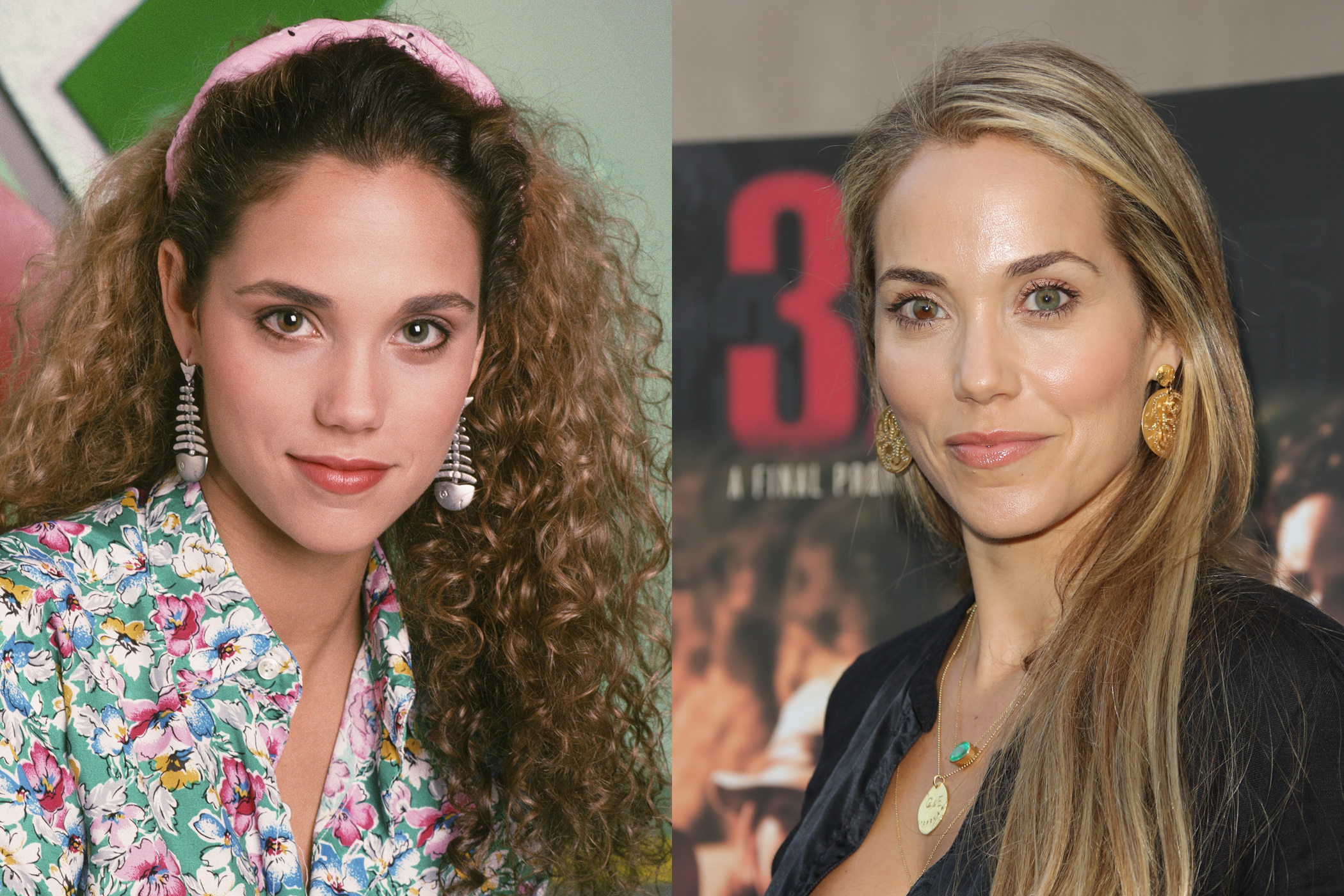 """Elizabeth Berkley, Jessie Spano: While the actress has had a smattering of roles, her most notable post-<i>Bell</i>part was as an exotic dancer in <i>Showgirls</i>. We'll still always remember her for Jessie's classic """"I'm so excited"""" freakout on caffeine pills."""