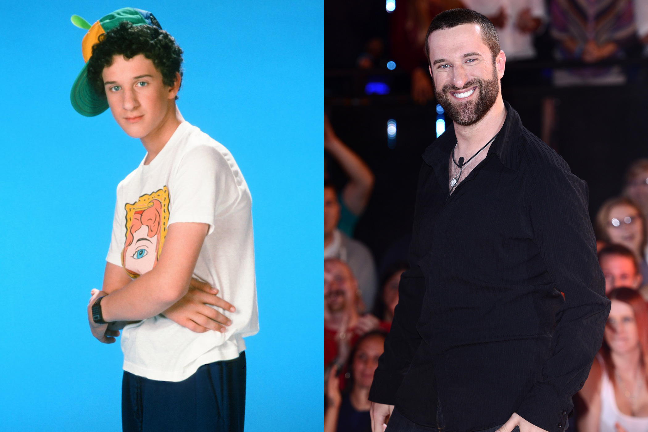 Dustin Diamond, Screech: He has made a career out of his strange relationship with <i>Saved by the Bell</i>. In 2006, Diamond released his own sex tape called <i>Screeched —Saved by the Smell</i>. He also published a gossipy tell-all of cast members' drug use and hookups called <i>Behind the Bell</i>, now a movie.