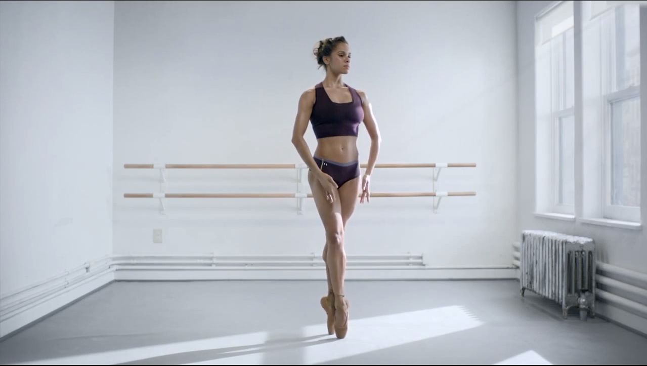 brecha robot Temprano  Under Armour's Ballerina Misty Copeland Ad I Will What I Want   Time